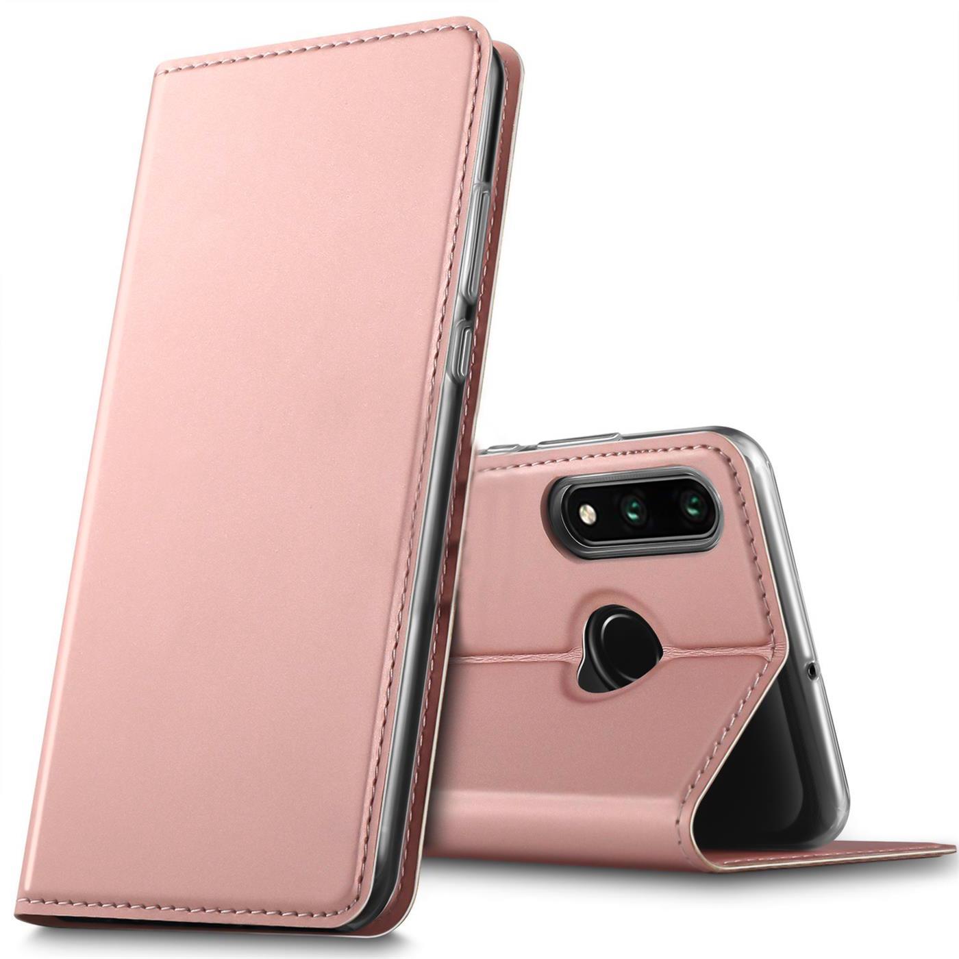 Huawei-P30-Lite-Schutz-Huelle-Handy-Tasche-Flip-Case-Book-Cover-Case-Etui-Bumper Indexbild 16