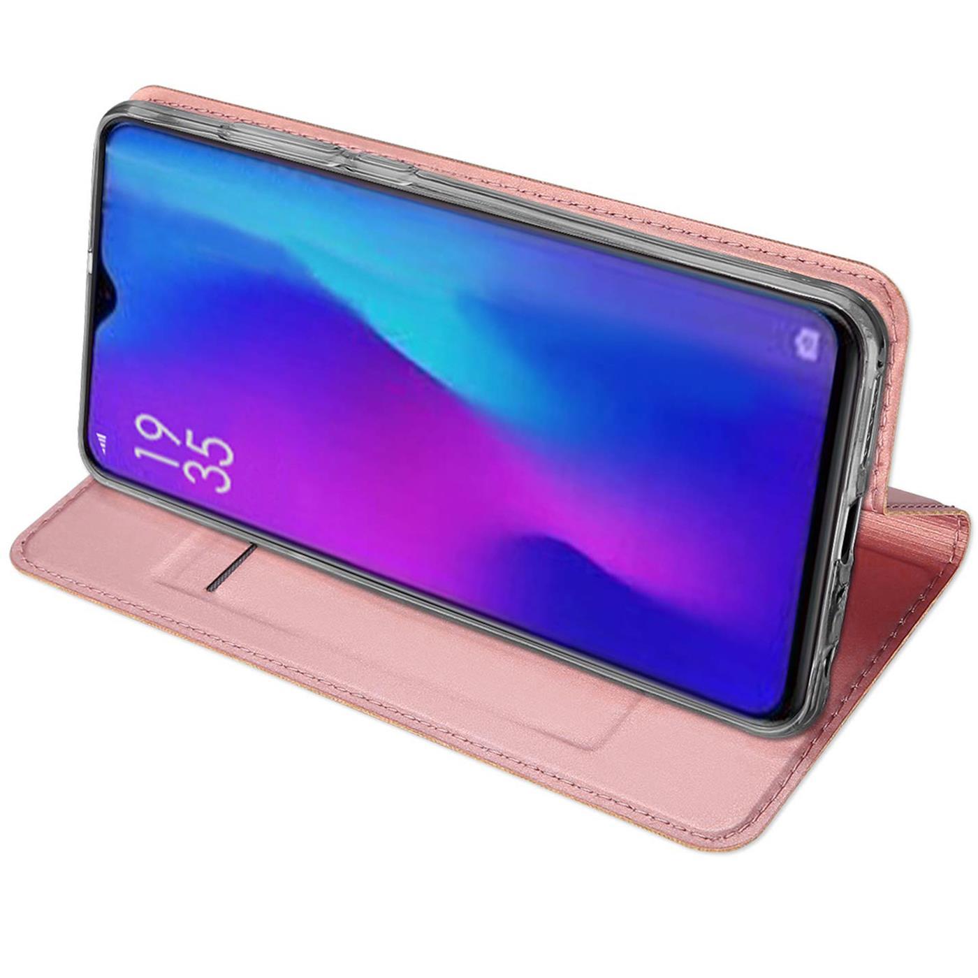 Huawei-P30-Lite-Schutz-Huelle-Handy-Tasche-Flip-Case-Book-Cover-Case-Etui-Bumper Indexbild 18