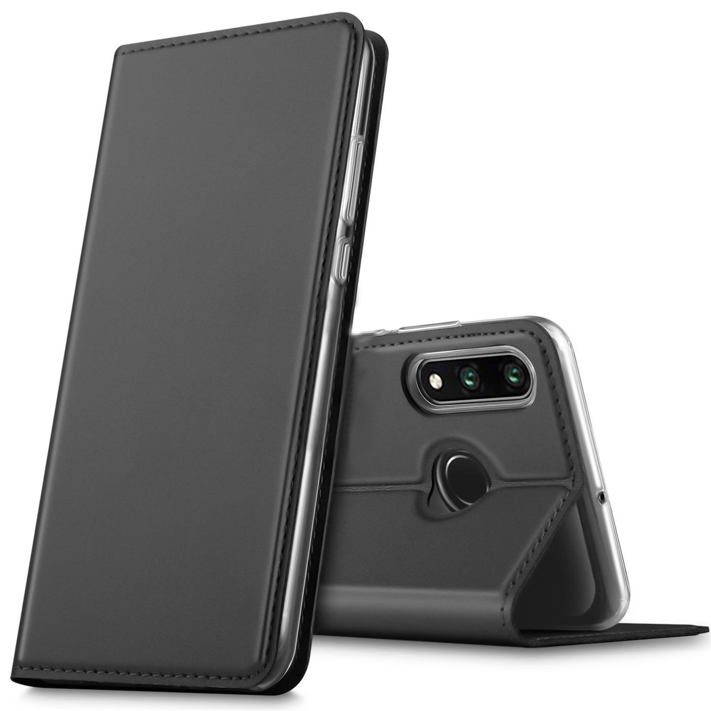 Huawei-P30-Lite-Schutz-Huelle-Handy-Tasche-Flip-Case-Book-Cover-Case-Etui-Bumper Indexbild 8