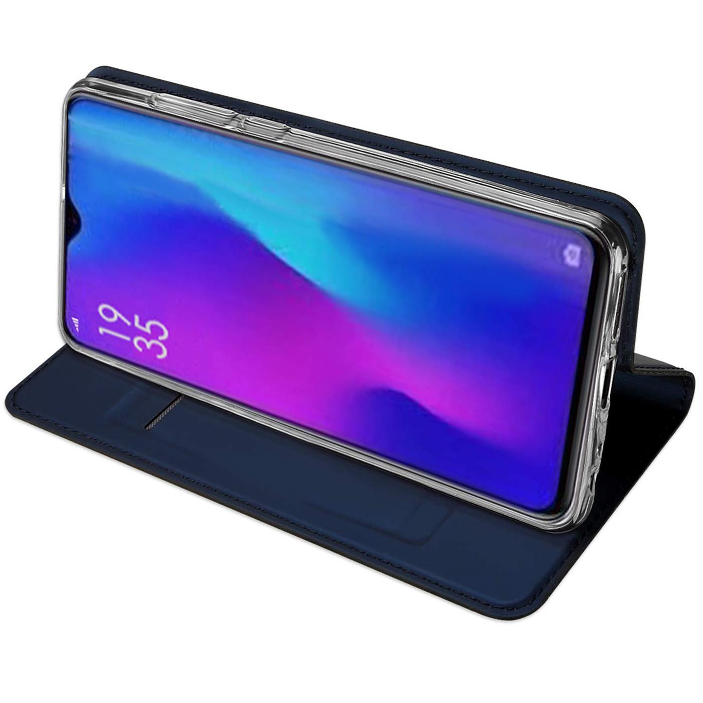 Huawei-P30-Lite-Schutz-Huelle-Handy-Tasche-Flip-Case-Book-Cover-Case-Etui-Bumper Indexbild 10