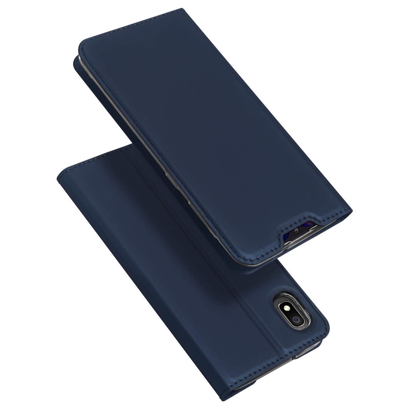 Samsung-Galaxy-A10-Handy-Schutz-Huelle-Tasche-Flip-Case-Klapphuelle-Schutzhuelle Indexbild 13