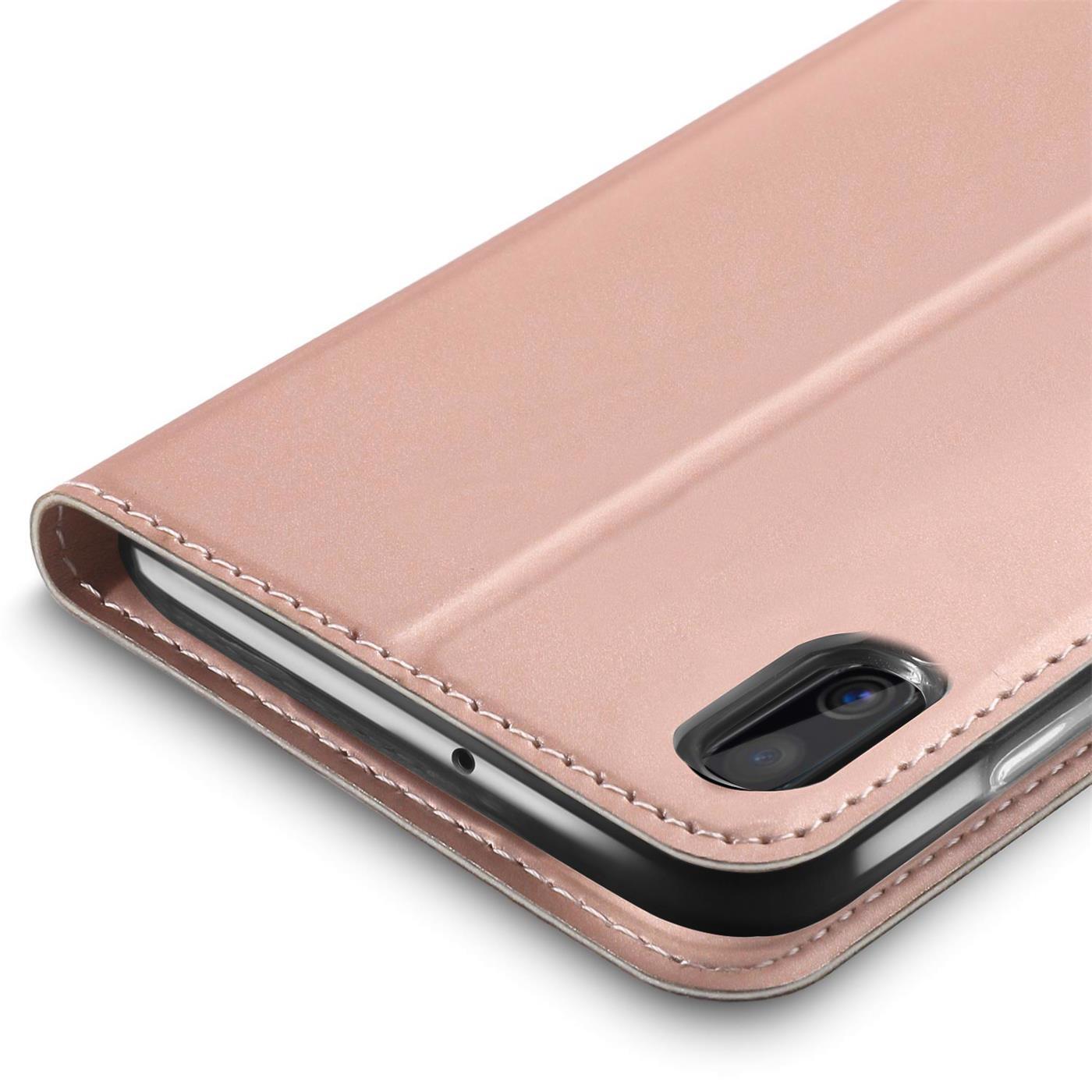 Samsung-Galaxy-A10-Handy-Schutz-Huelle-Tasche-Flip-Case-Klapphuelle-Schutzhuelle Indexbild 17
