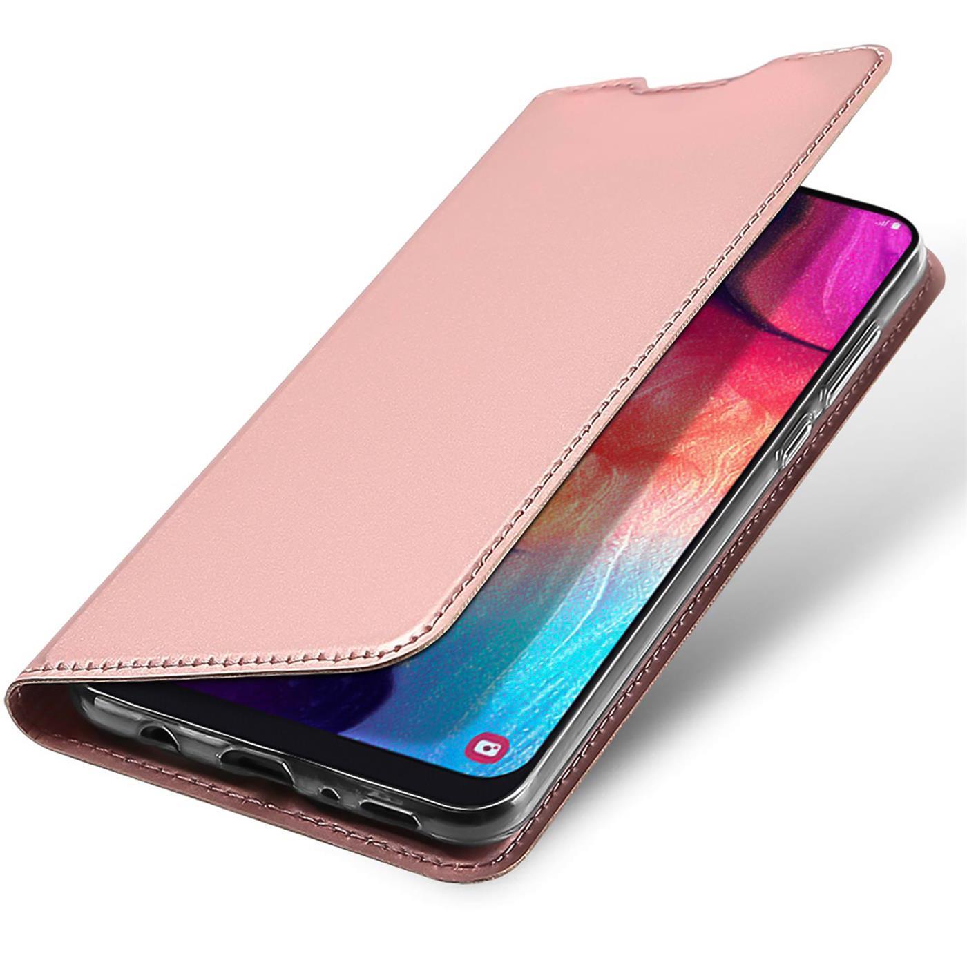 Samsung-Galaxy-A10-Handy-Schutz-Huelle-Tasche-Flip-Case-Klapphuelle-Schutzhuelle Indexbild 18