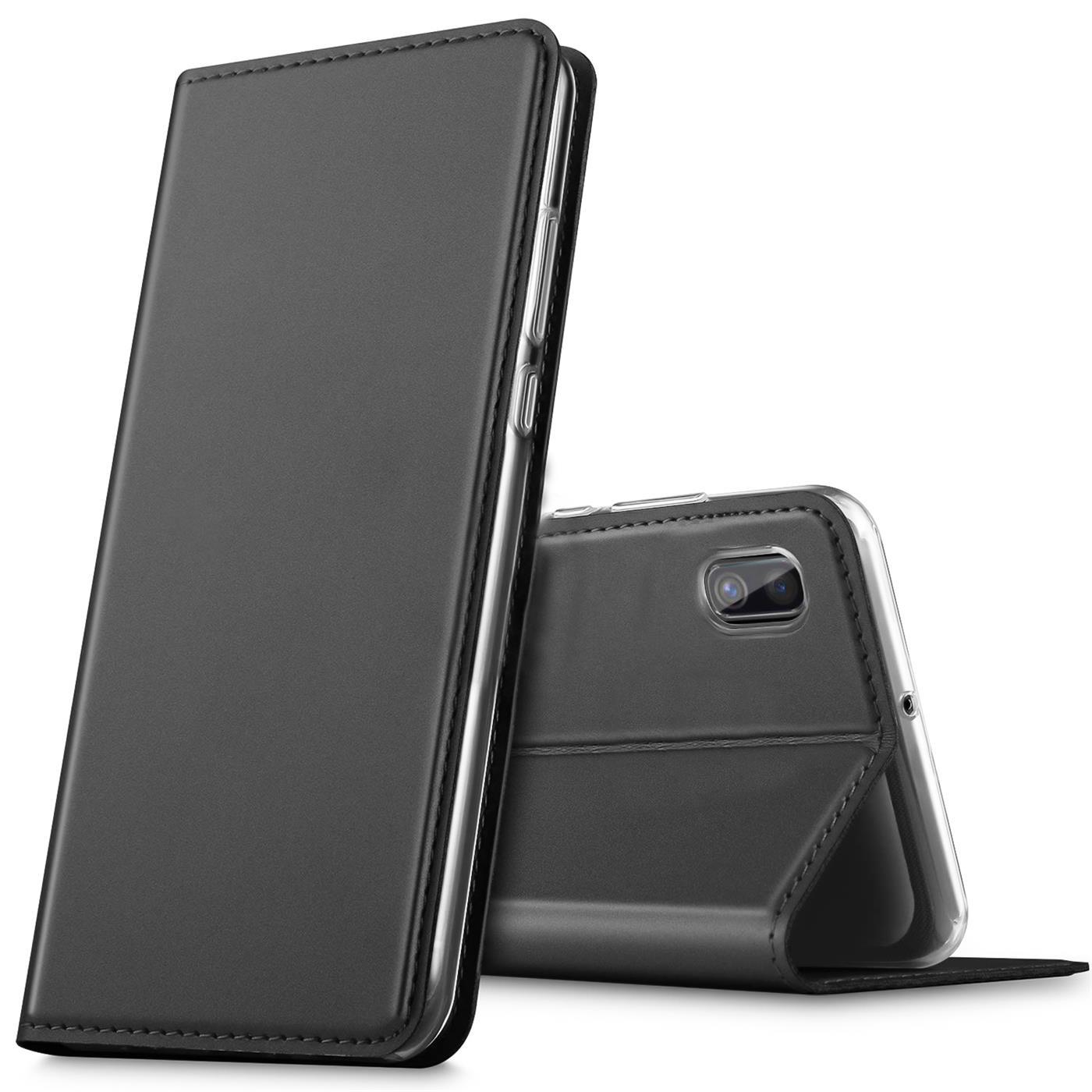 Samsung-Galaxy-A10-Handy-Schutz-Huelle-Tasche-Flip-Case-Klapphuelle-Schutzhuelle Indexbild 8