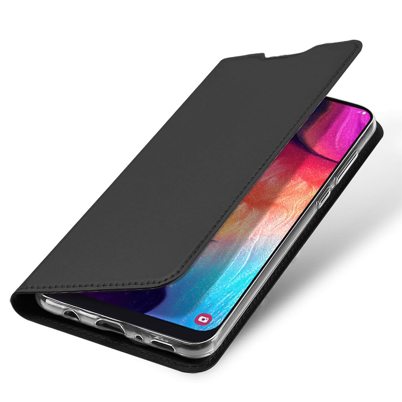 Samsung-Galaxy-A10-Handy-Schutz-Huelle-Tasche-Flip-Case-Klapphuelle-Schutzhuelle Indexbild 10