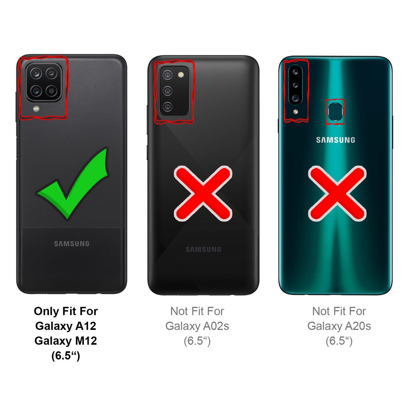 miniatura 13 - Funda de móvil para Samsung Galaxy a12 m12, funda protectora Book Funda protectora móvil cartera cover
