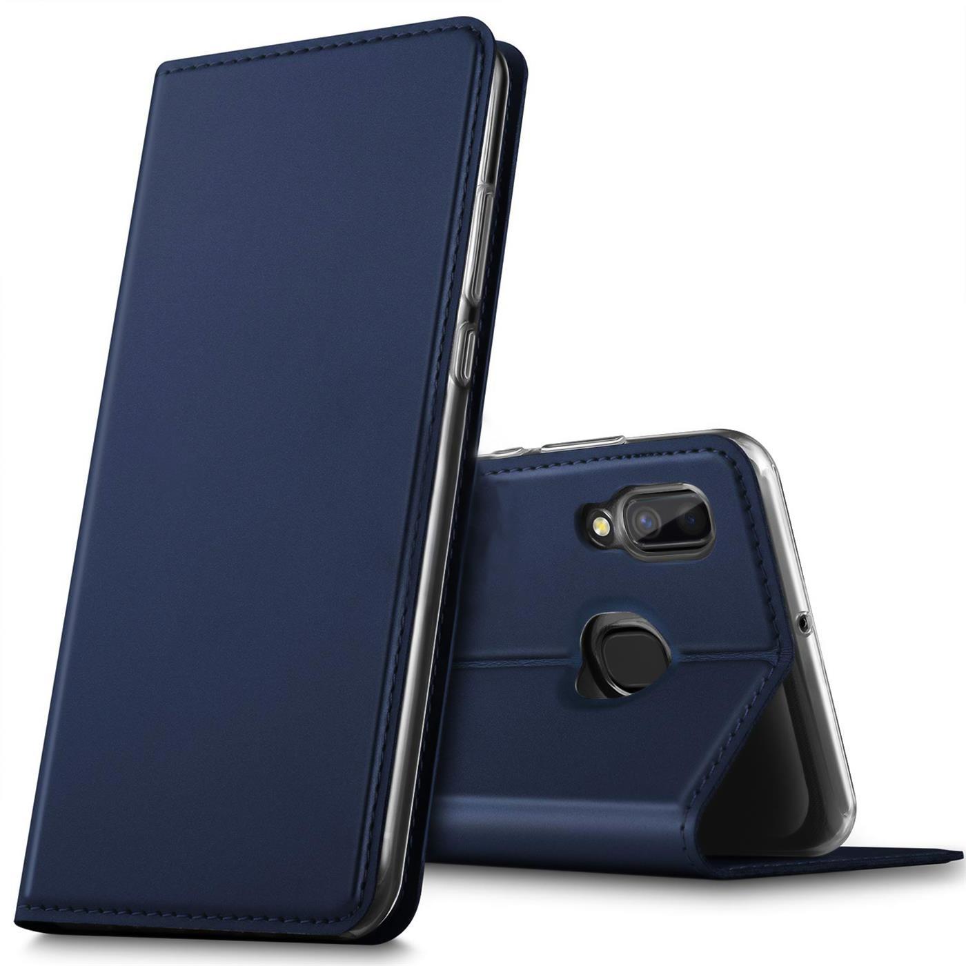 Samsung-Galaxy-A40-Handy-Klapp-Schutz-Huelle-Tasche-Flip-Case-Etui-Schutzhuelle Indexbild 12