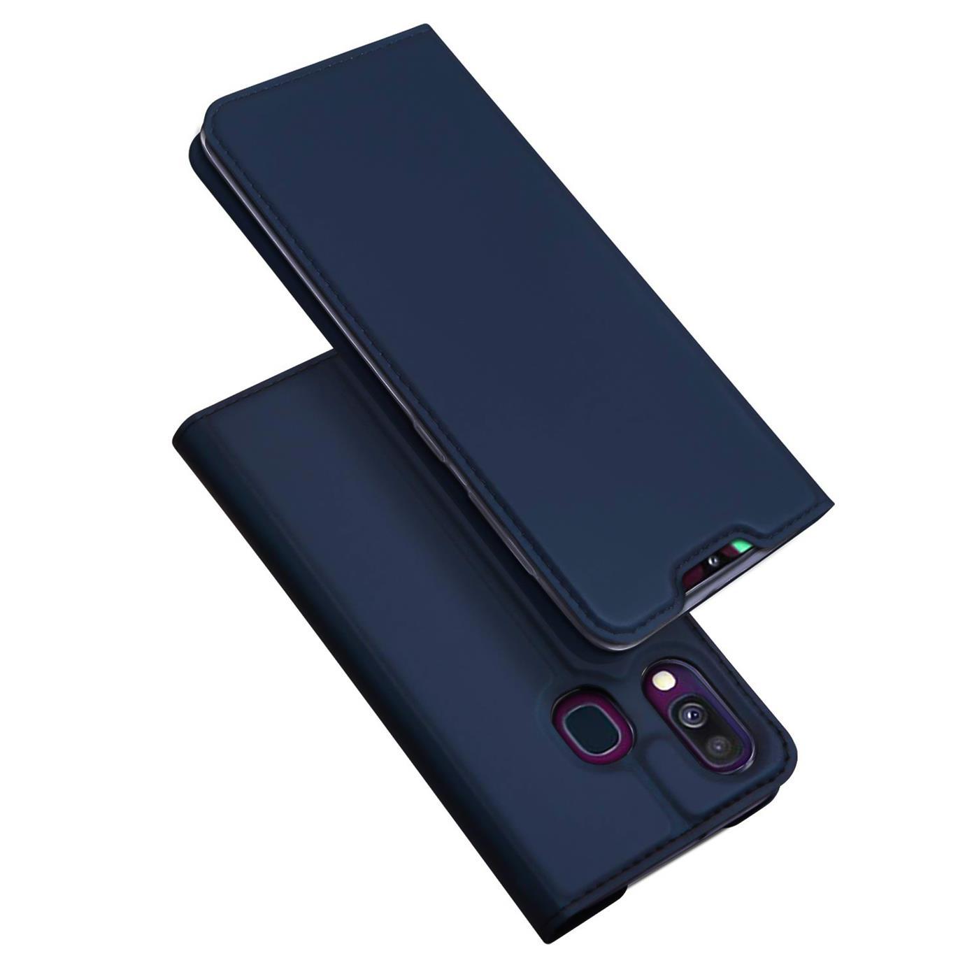 Samsung-Galaxy-A40-Handy-Klapp-Schutz-Huelle-Tasche-Flip-Case-Etui-Schutzhuelle Indexbild 13