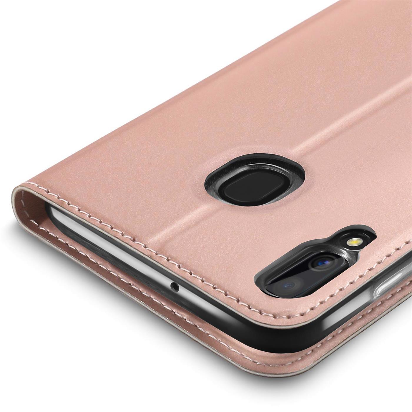 Samsung-Galaxy-A40-Handy-Klapp-Schutz-Huelle-Tasche-Flip-Case-Etui-Schutzhuelle Indexbild 17