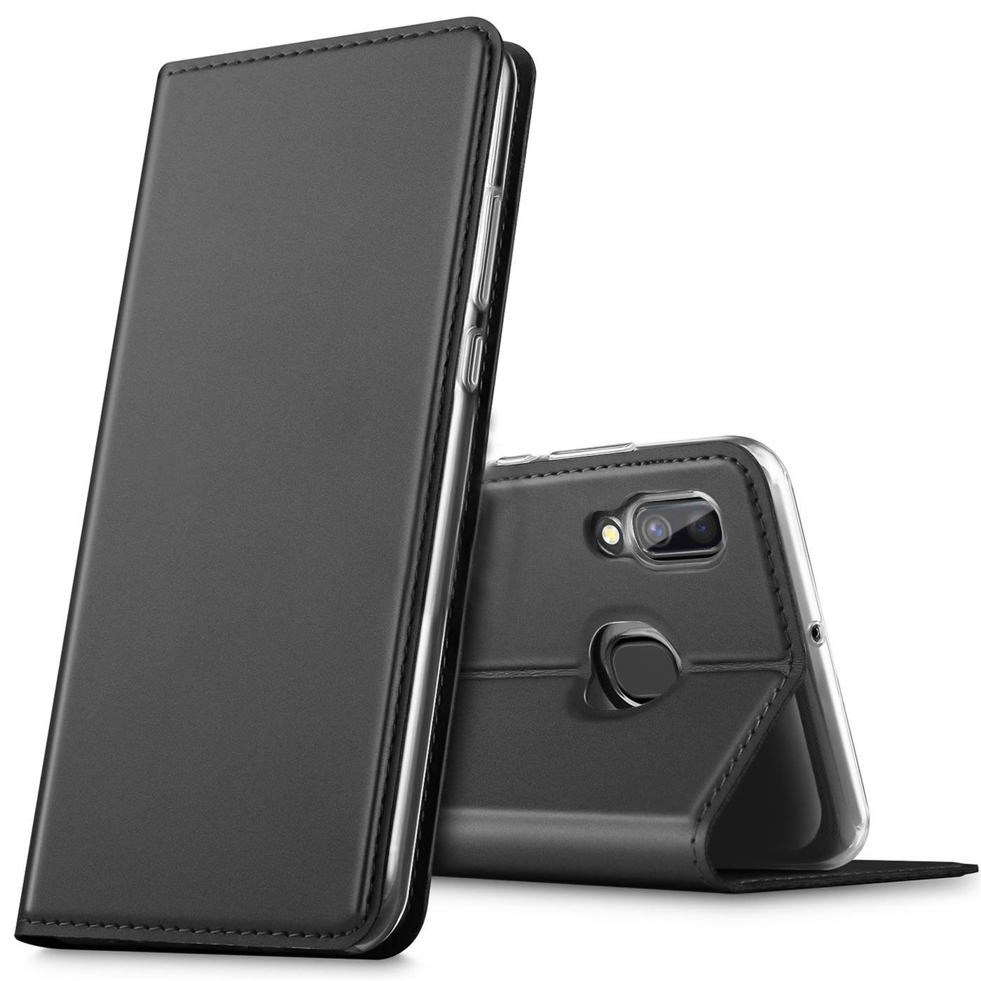 Samsung-Galaxy-A40-Handy-Klapp-Schutz-Huelle-Tasche-Flip-Case-Etui-Schutzhuelle Indexbild 8