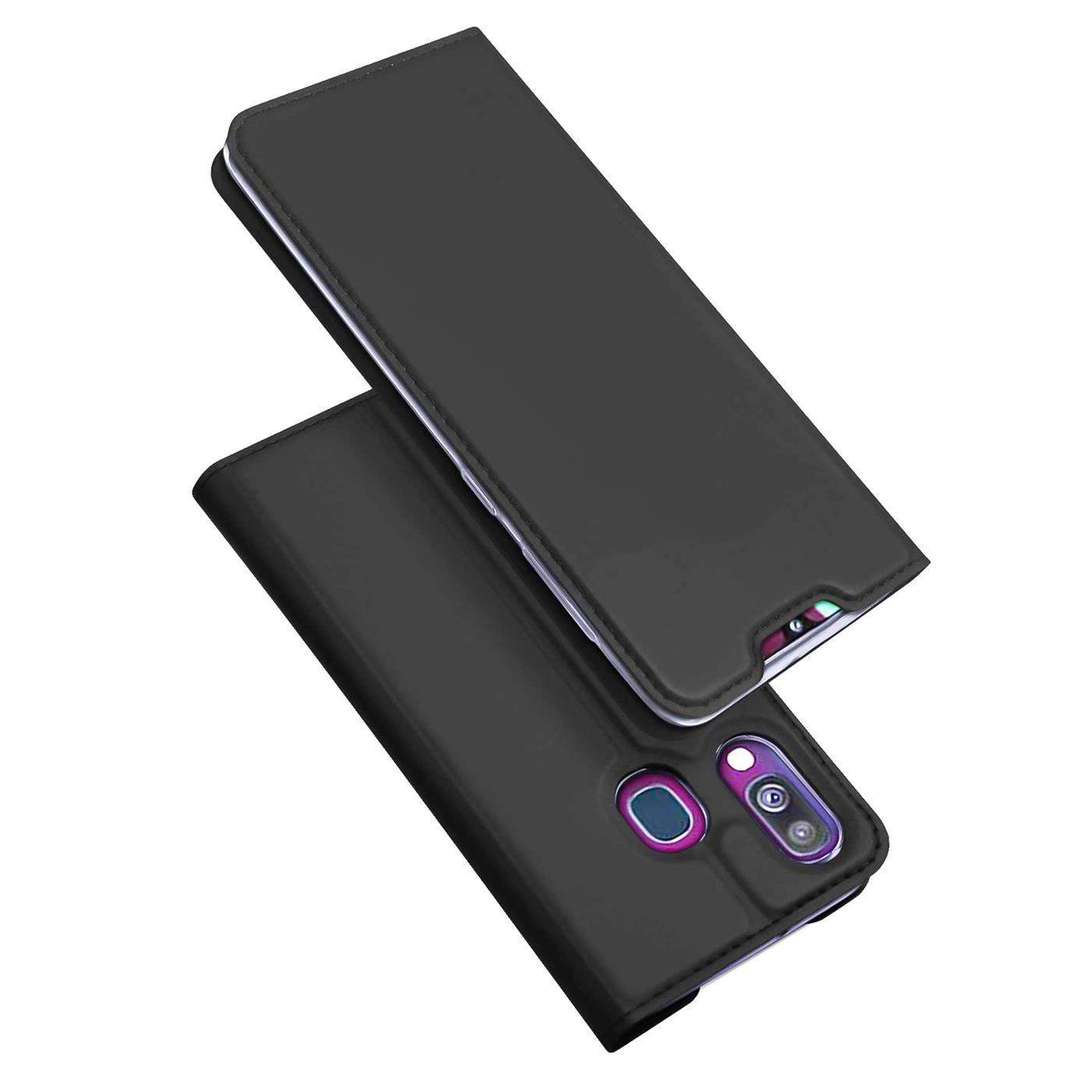 Samsung-Galaxy-A40-Handy-Klapp-Schutz-Huelle-Tasche-Flip-Case-Etui-Schutzhuelle Indexbild 9