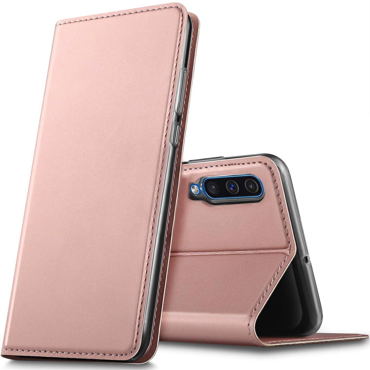 Samsung-Galaxy-A50-Handy-Klapp-Schutz-Huelle-Tasche-Flip-Case-Etui-Schutzhuelle Indexbild 16