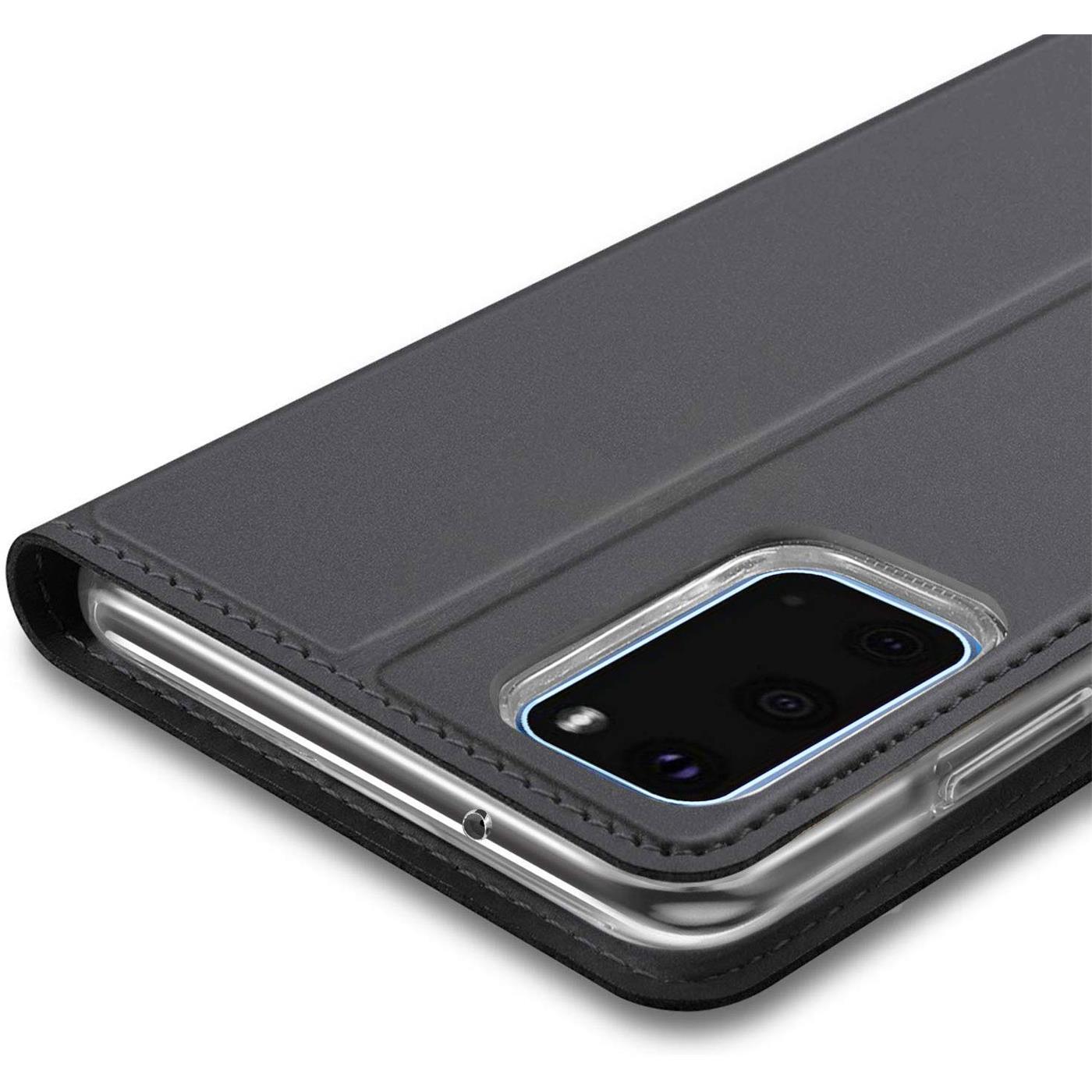 Handy-Huelle-Samsung-Galaxy-A51-Book-Case-Schutzhuelle-Tasche-Slim-Flip-Cover-Etui Indexbild 9