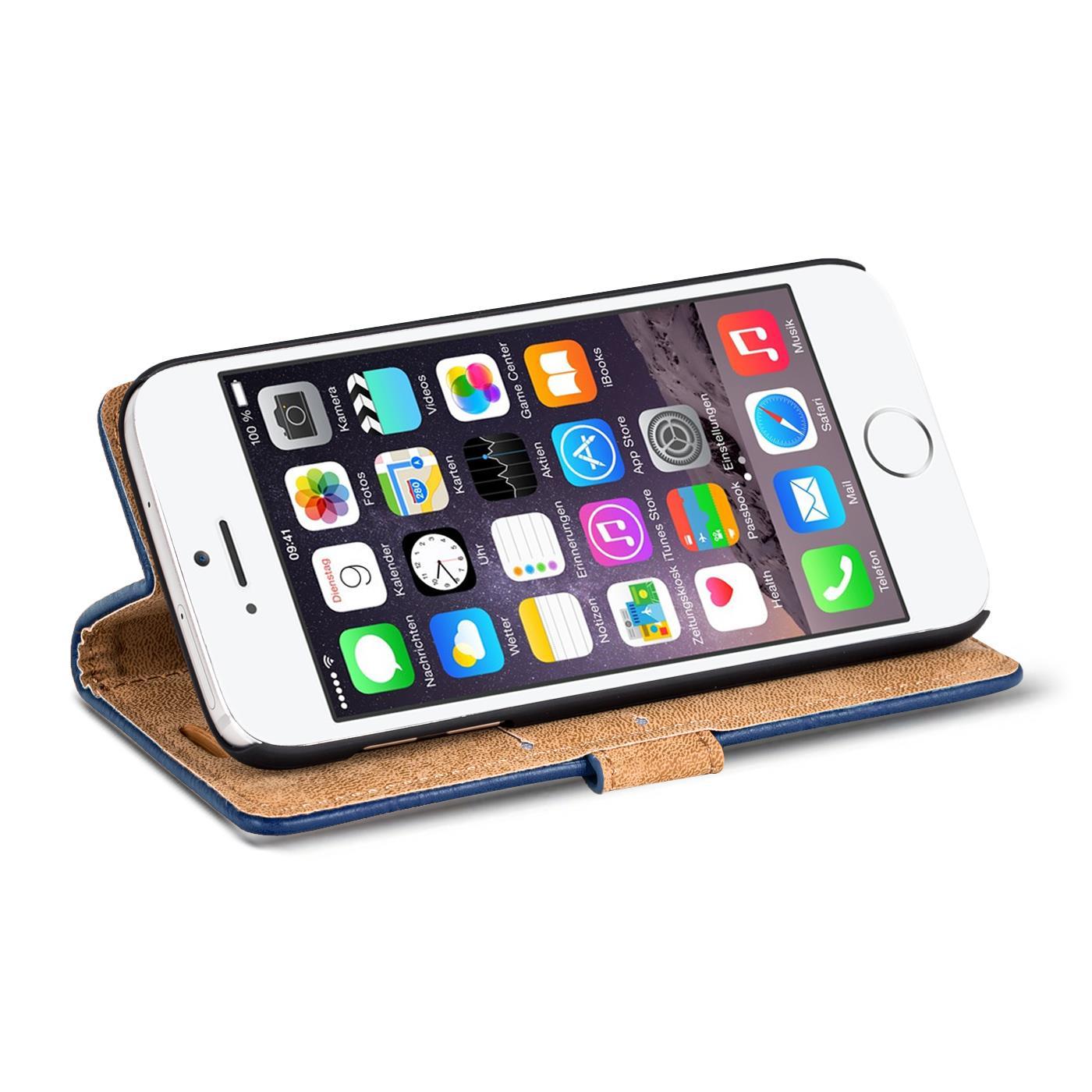 handy tasche h lle apple iphone 6 6s plus case klapph lle. Black Bedroom Furniture Sets. Home Design Ideas
