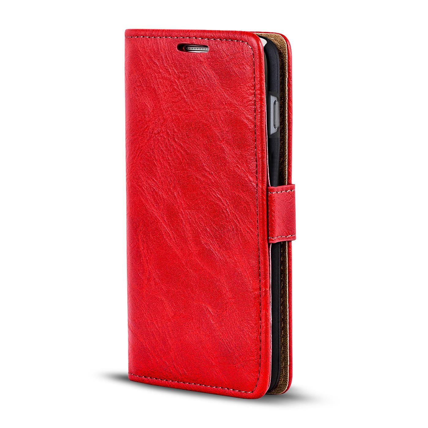 handy tasche h lle apple iphone 8 plus case klapph lle pu leder wallet cover ebay. Black Bedroom Furniture Sets. Home Design Ideas