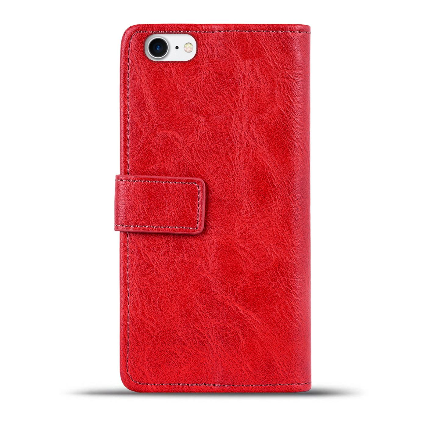 Book-Case-fuer-Apple-iPhone-Huelle-Handy-Tasche-Klapphuelle-Schutz-Flip-Cover-Etui