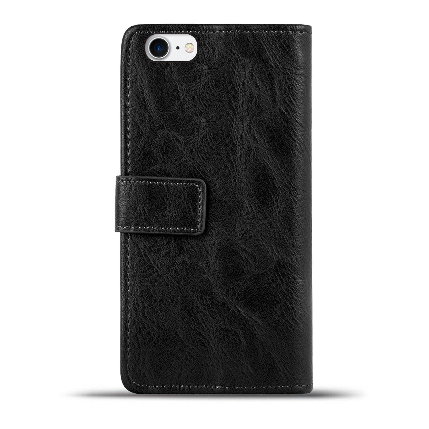 handy tasche h lle apple iphone 7 case klapph lle pu leder. Black Bedroom Furniture Sets. Home Design Ideas