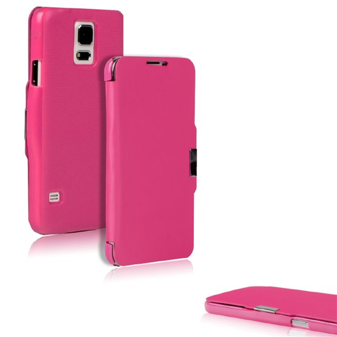 Klapptasche-fuer-Apple-Samsung-Sony-HTC-Slim-Flip-Case-Schutz-Huelle-Handy-Tasche