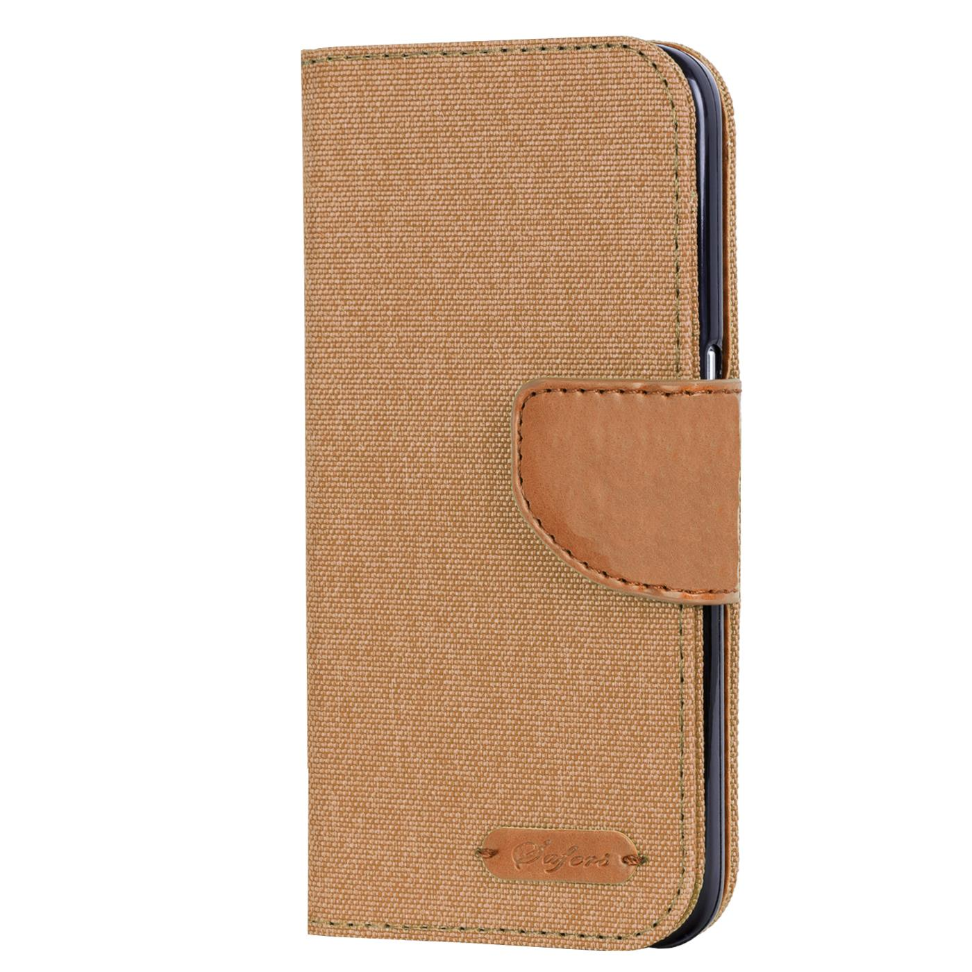 Apple-iPhone-5-5s-SE-Phone-PU-Leather-Magnetic-Flip-Case-Wallet-Denim-Cover-Slim thumbnail 25