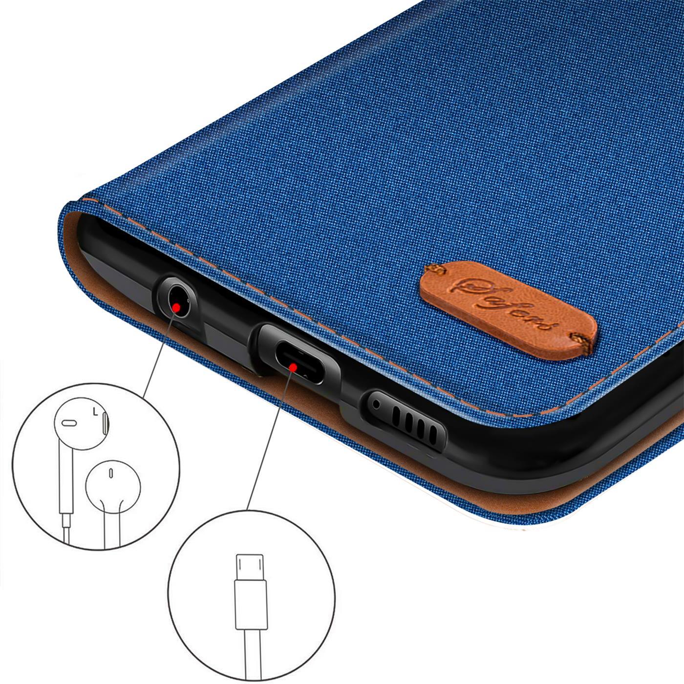 Schutzhuelle-Handy-Huelle-Flip-Case-Klapp-Tasche-Book-Case-Cover-Handyhuelle-Etui Indexbild 21