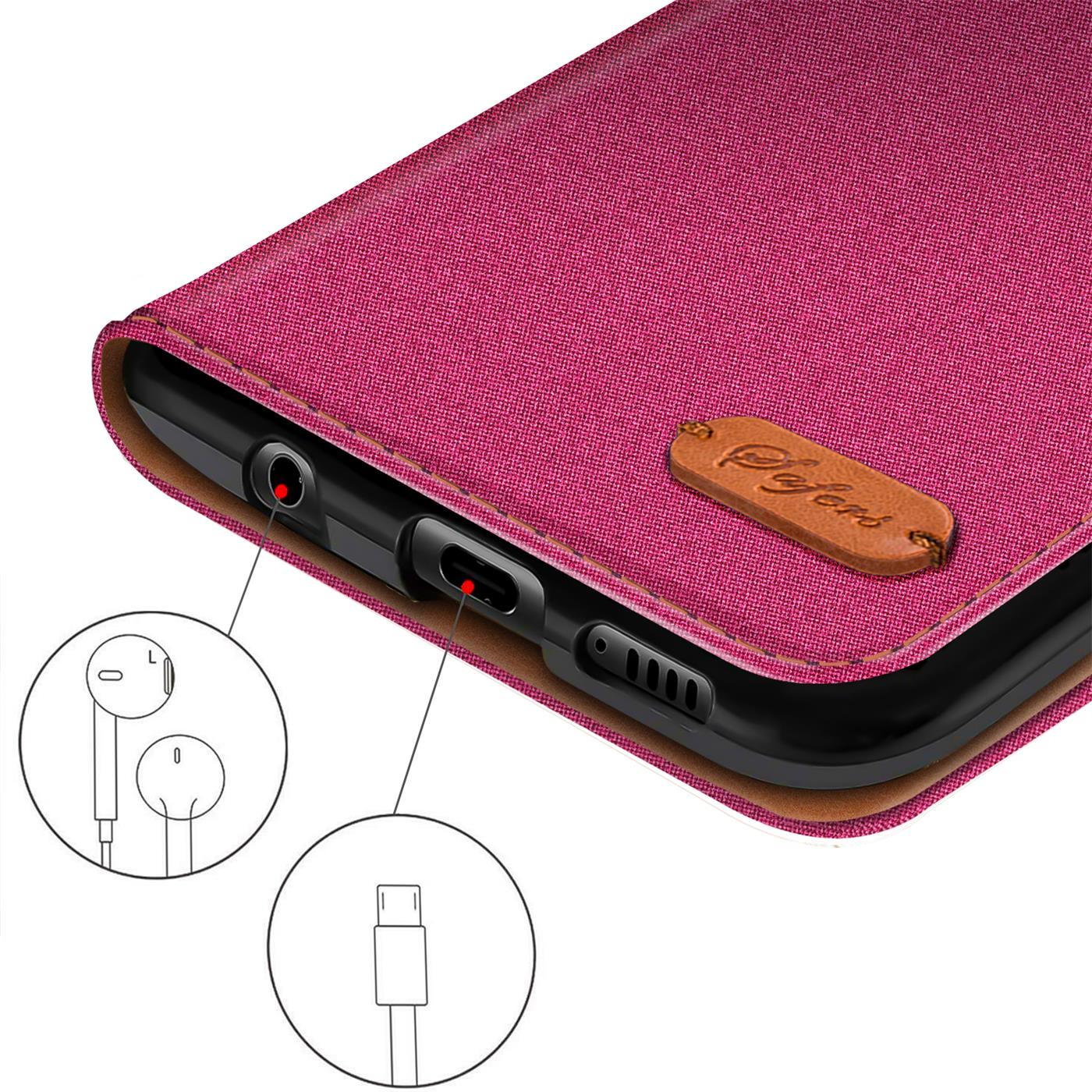Schutzhuelle-Handy-Huelle-Flip-Case-Klapp-Tasche-Book-Case-Cover-Handyhuelle-Etui Indexbild 35