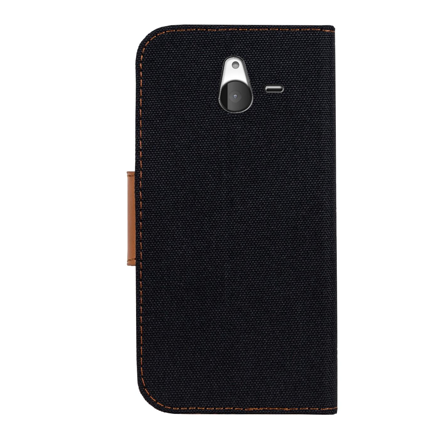 Microsoft-Lumia-640-XL-Phone-PU-Leather-Magnetic-Flip-Case-Wallet-Denim-Cover thumbnail 6