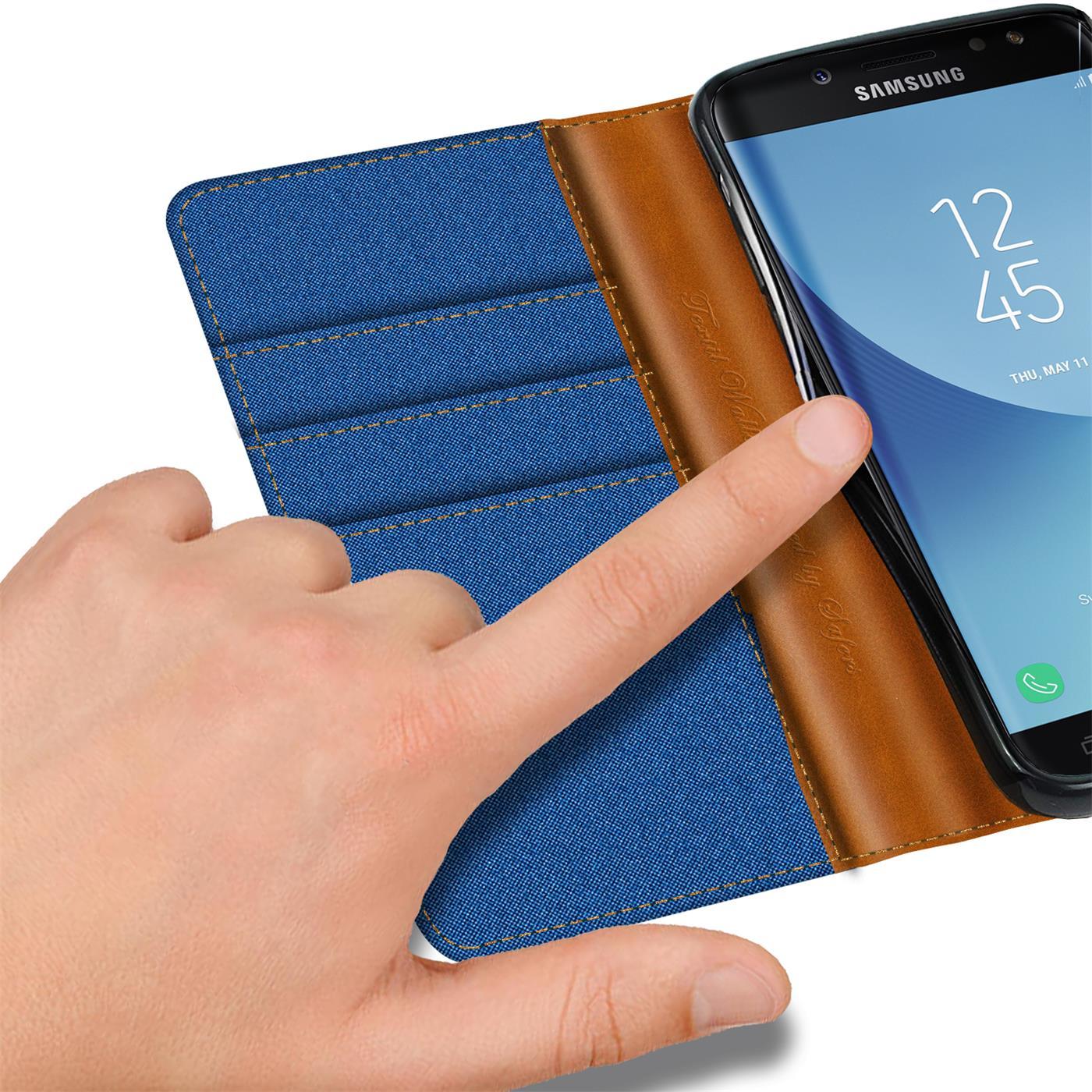 Indexbild 16 - Handy Hülle für Samsung Galaxy J3 2017 Tasche Etui Flip Case Schutz Hülle Cover