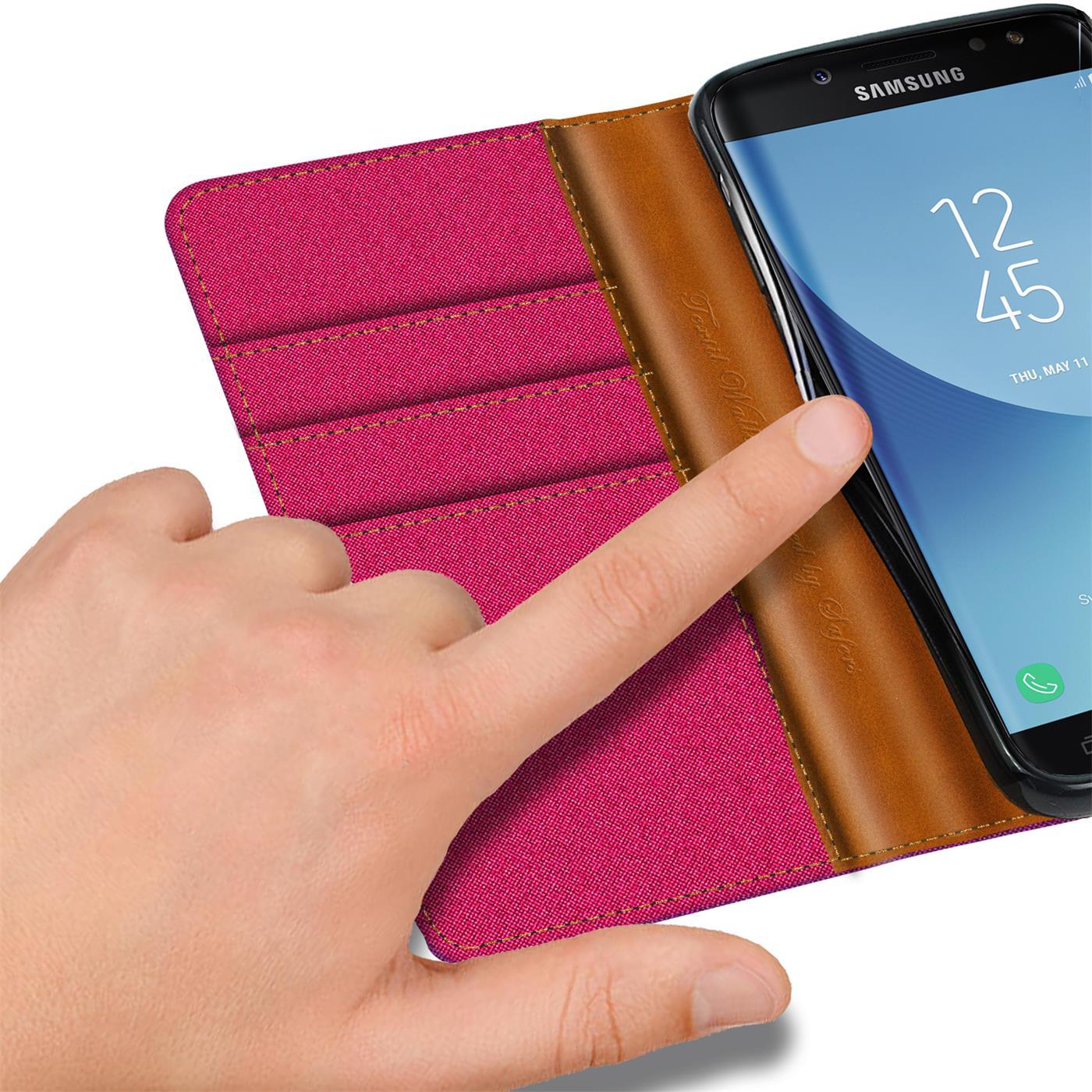 Indexbild 13 - Handy Hülle für Samsung Galaxy J3 2017 Tasche Etui Flip Case Schutz Hülle Cover