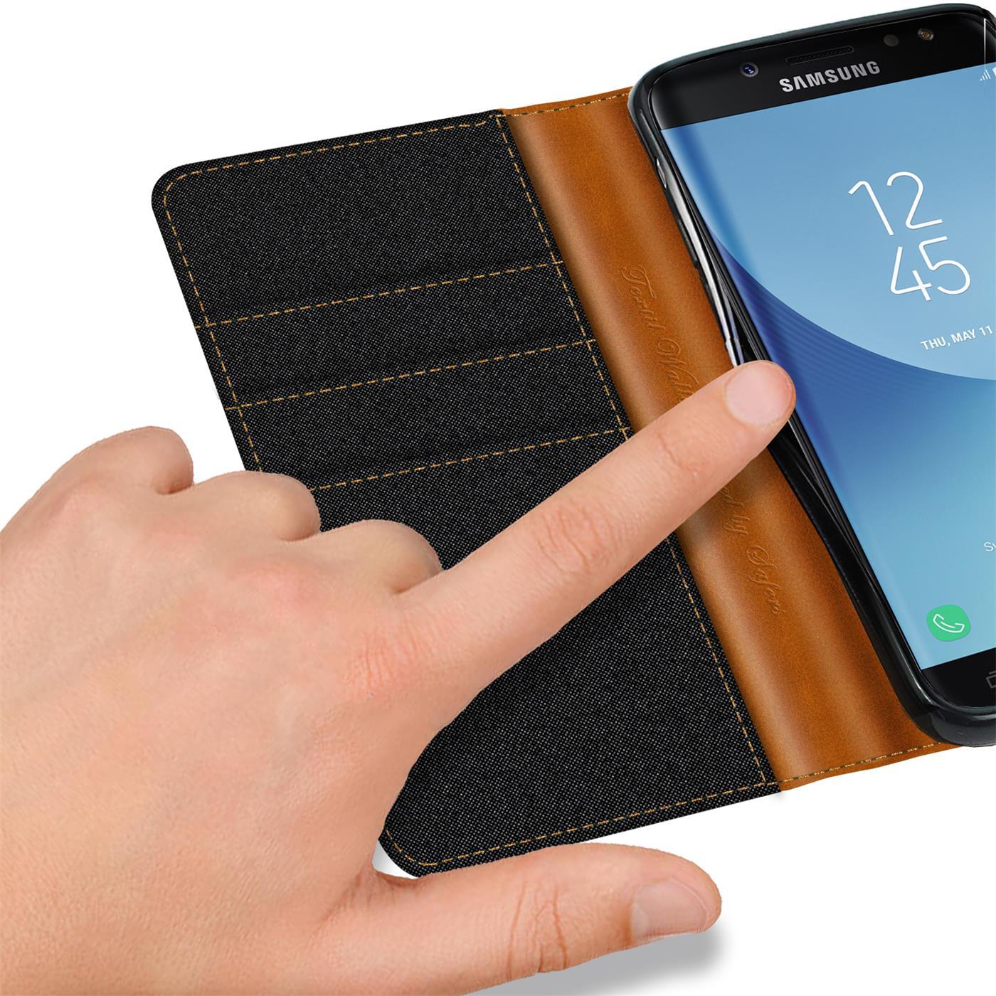 Indexbild 10 - Handy Hülle für Samsung Galaxy J3 2017 Tasche Etui Flip Case Schutz Hülle Cover