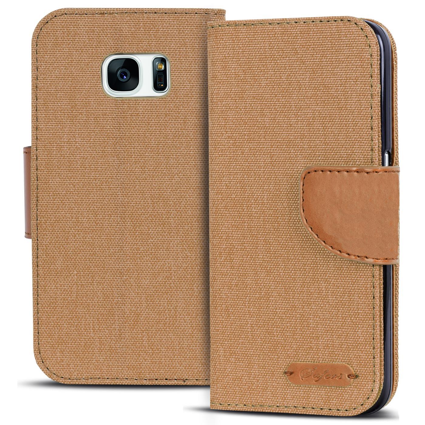 Handy-Tasche-fuer-Samsung-Galaxy-Huelle-Schutzhuelle-Book-Flip-Case-Schutz-Cover