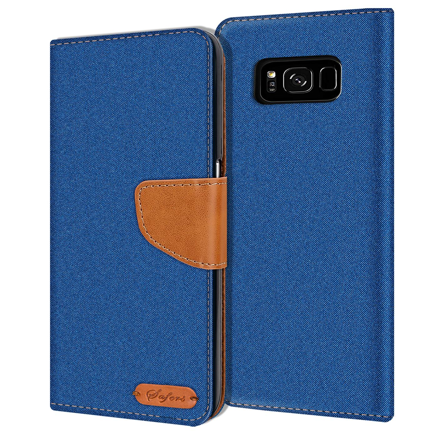 Samsung-Galaxy-S8-Plus-Phone-PU-Leather-Magnetic-Flip-Case-Wallet-Denim-Cover thumbnail 22