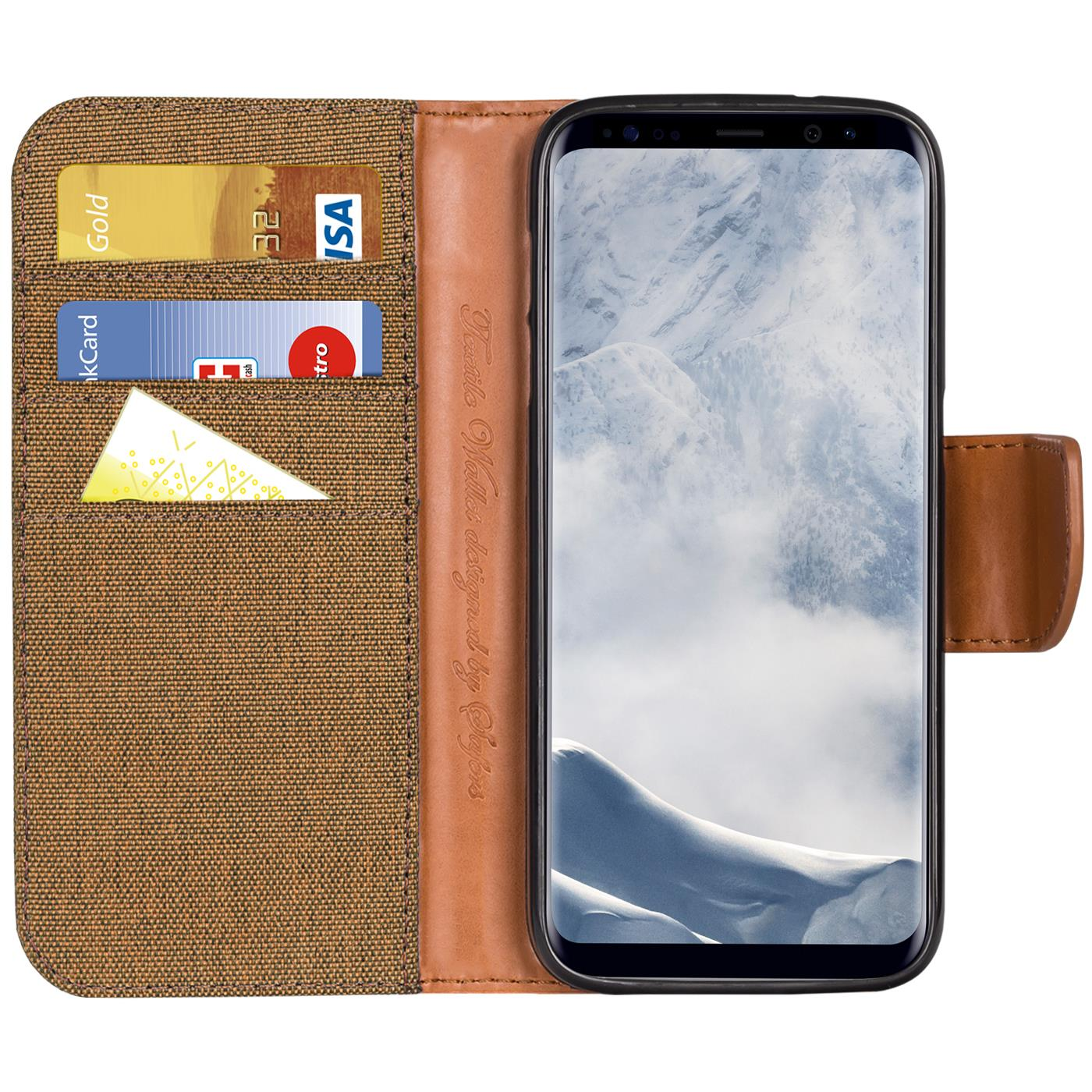 Samsung-Galaxy-S8-Plus-Phone-PU-Leather-Magnetic-Flip-Case-Wallet-Denim-Cover thumbnail 28