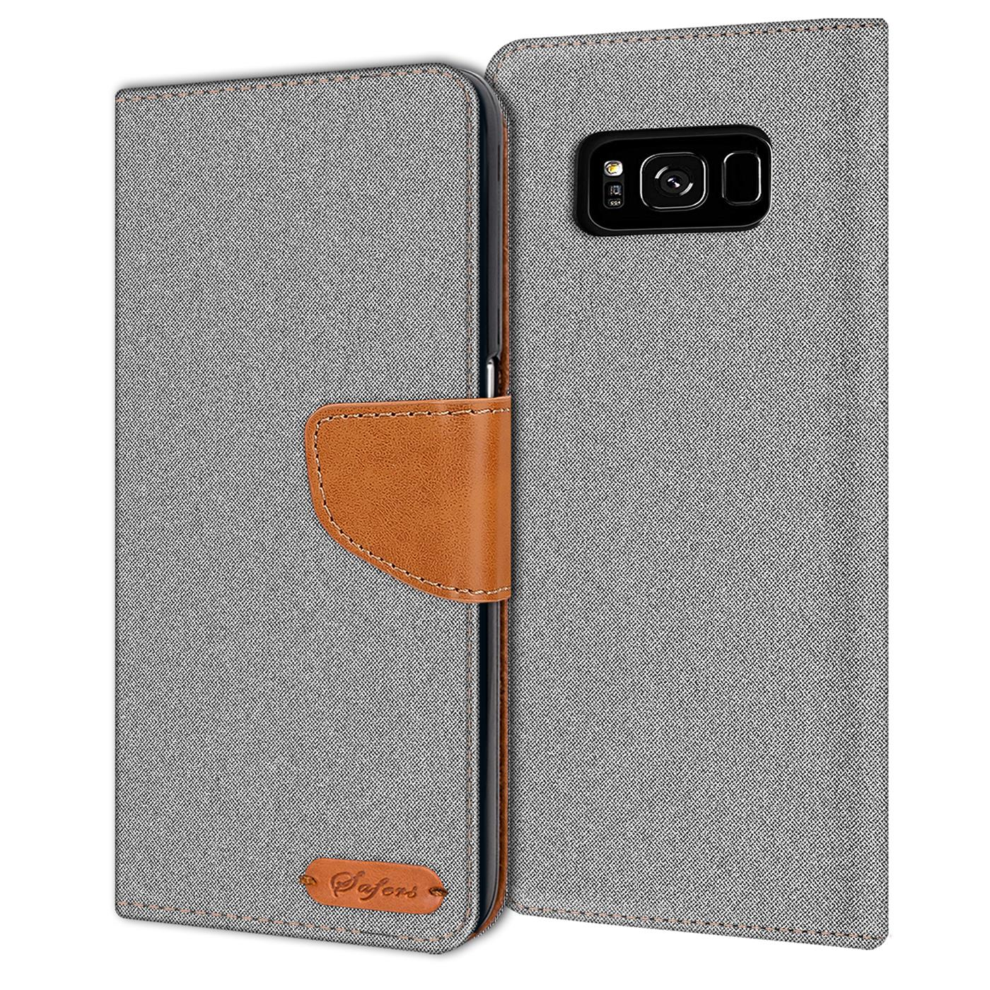 Samsung-Galaxy-S8-Plus-Phone-PU-Leather-Magnetic-Flip-Case-Wallet-Denim-Cover thumbnail 10