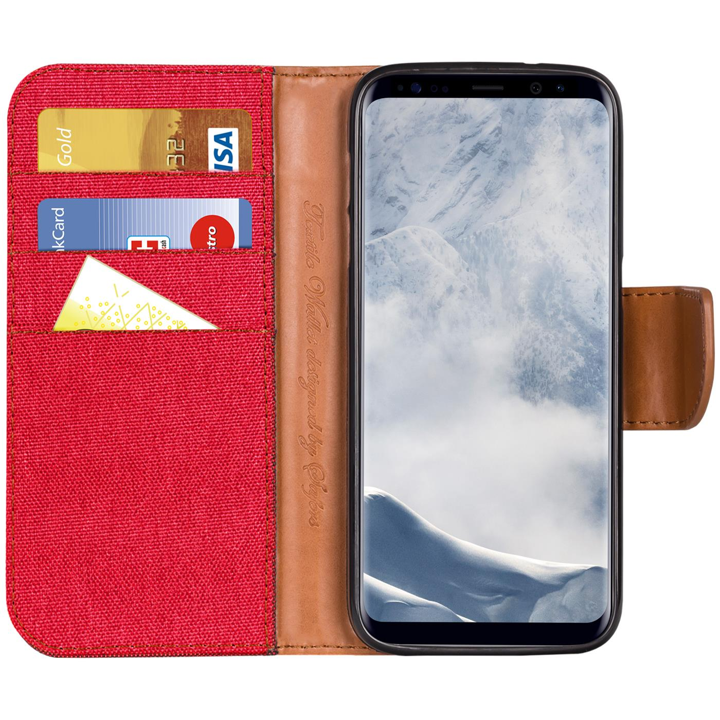 Samsung-Galaxy-S8-Plus-Phone-PU-Leather-Magnetic-Flip-Case-Wallet-Denim-Cover thumbnail 16