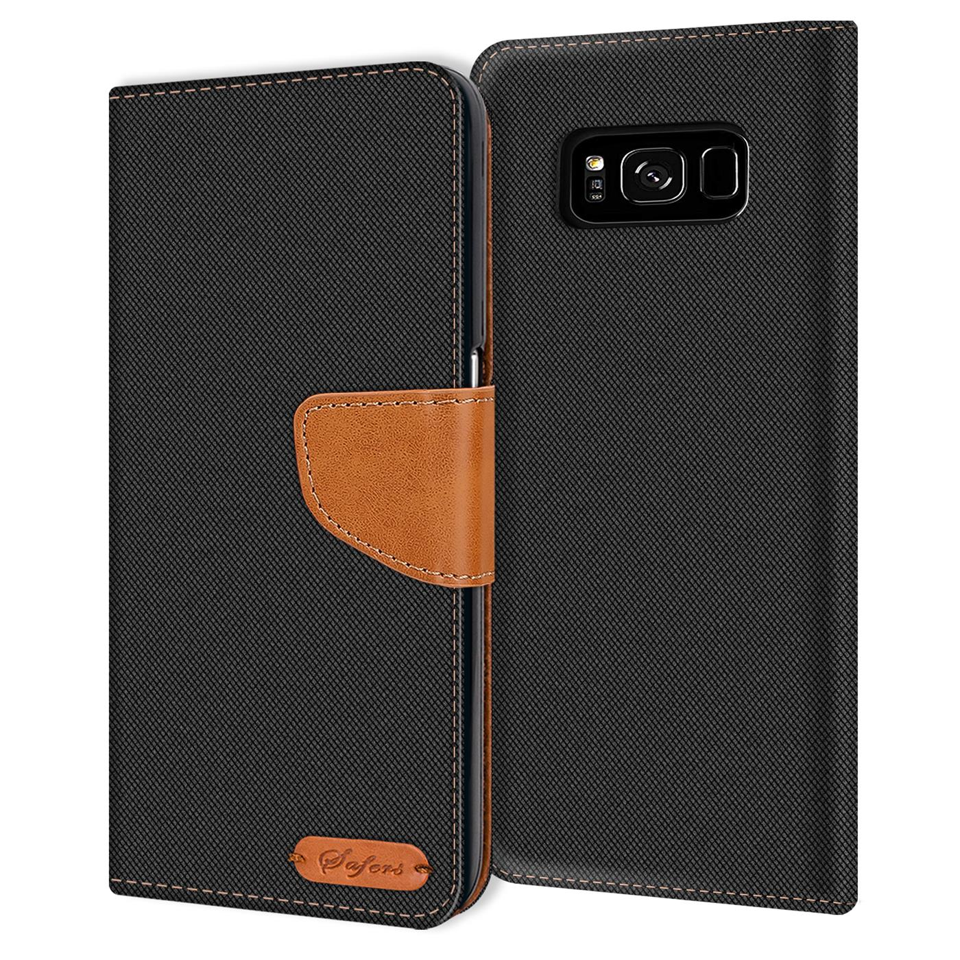 Samsung-Galaxy-S8-Plus-Phone-PU-Leather-Magnetic-Flip-Case-Wallet-Denim-Cover thumbnail 6
