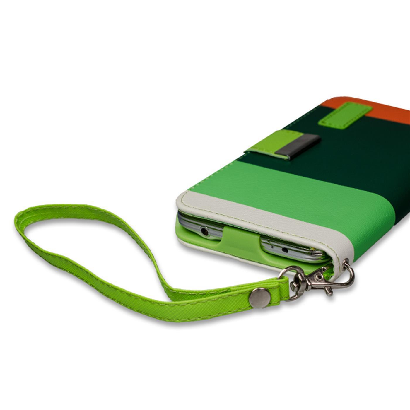 Wallet-Huelle-Samsung-Galaxy-s6-Case-Magnetic-Flip-PU-Leder-Halter-Huelle-Bag Indexbild 8