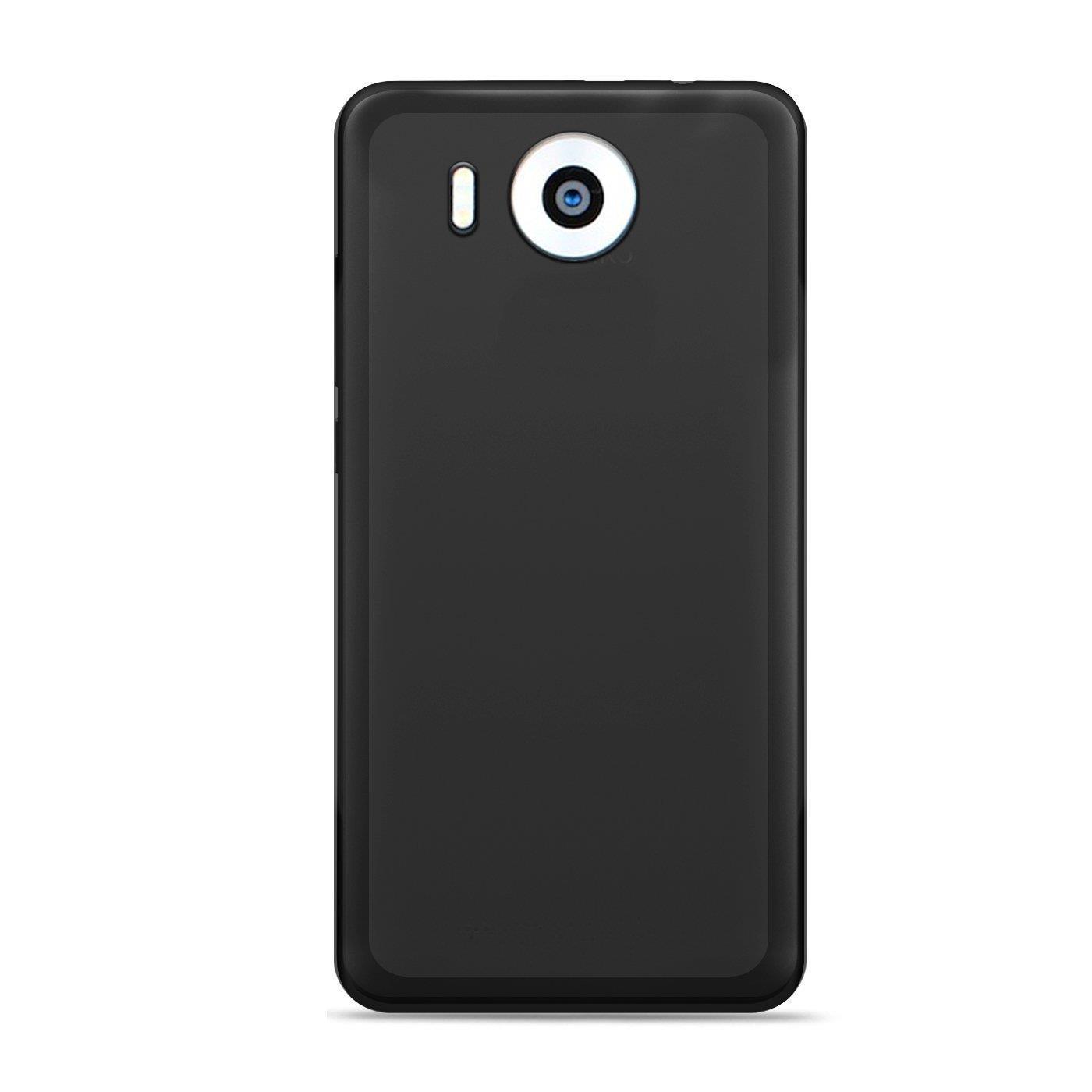 Microsoft-Lumia-950-XL-Shockproof-Silikon-Klar-Case-Duenn-Cover-Ultra-Slim-Back Indexbild 7