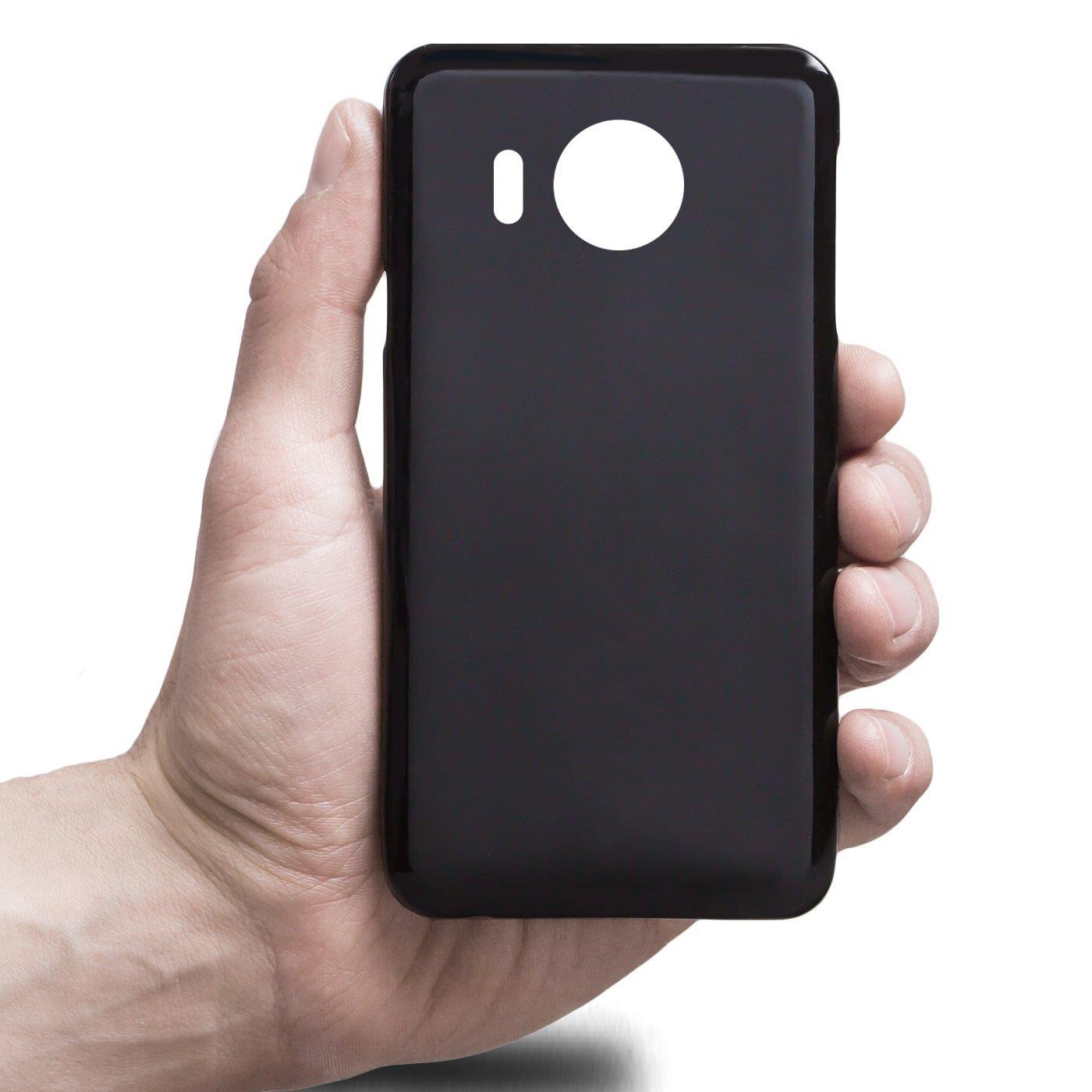 Microsoft-Lumia-950-XL-Shockproof-Silikon-Klar-Case-Duenn-Cover-Ultra-Slim-Back Indexbild 8