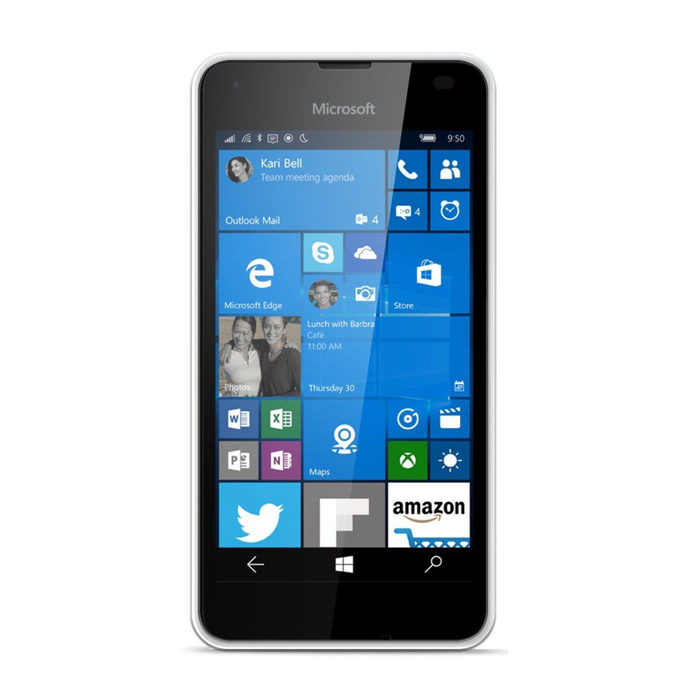 Microsoft-Lumia-950-XL-Shockproof-Silikon-Klar-Case-Duenn-Cover-Ultra-Slim-Back Indexbild 10