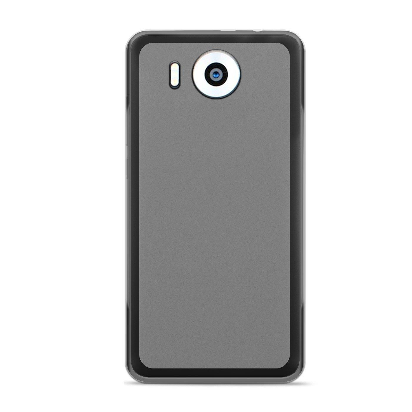 Microsoft-Lumia-950-XL-Shockproof-Silikon-Klar-Case-Duenn-Cover-Ultra-Slim-Back Indexbild 11