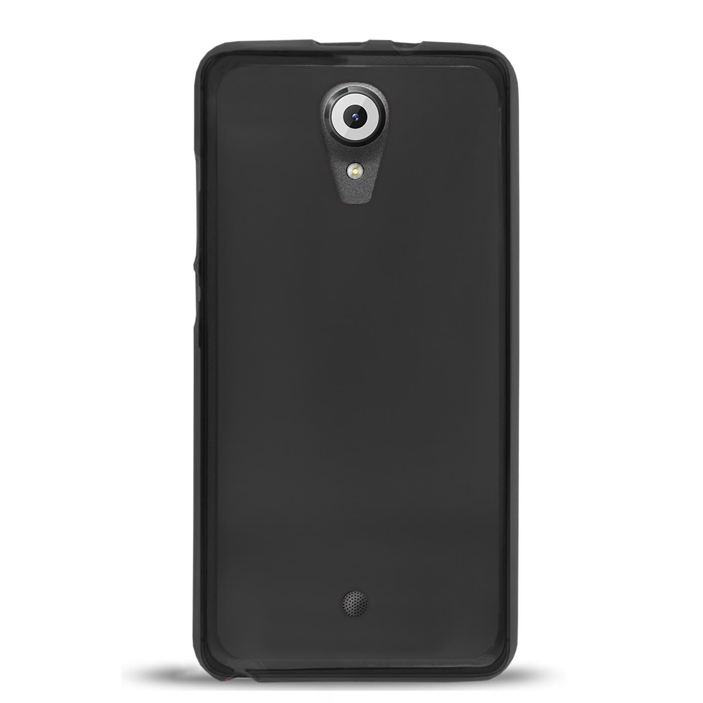 Duenn-Slim-Cover-Wiko-U-Feel-Handy-Huelle-Silikon-Case-Schutz-Tasche-Schwarz Indexbild 3