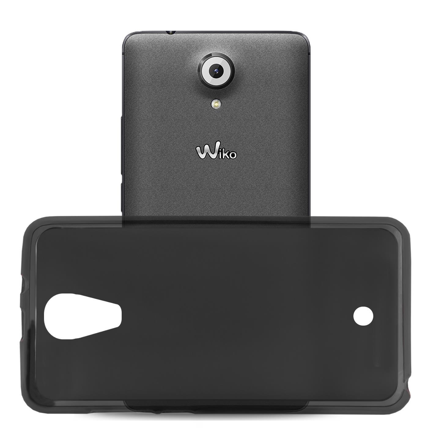 Duenn-Slim-Cover-Wiko-U-Feel-Handy-Huelle-Silikon-Case-Schutz-Tasche-Schwarz Indexbild 4