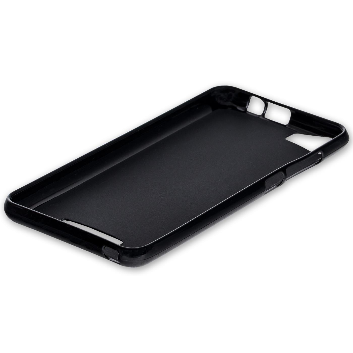 Duenn-Slim-Cover-Wiko-U-Feel-Handy-Huelle-Silikon-Case-Schutz-Tasche-Schwarz Indexbild 5