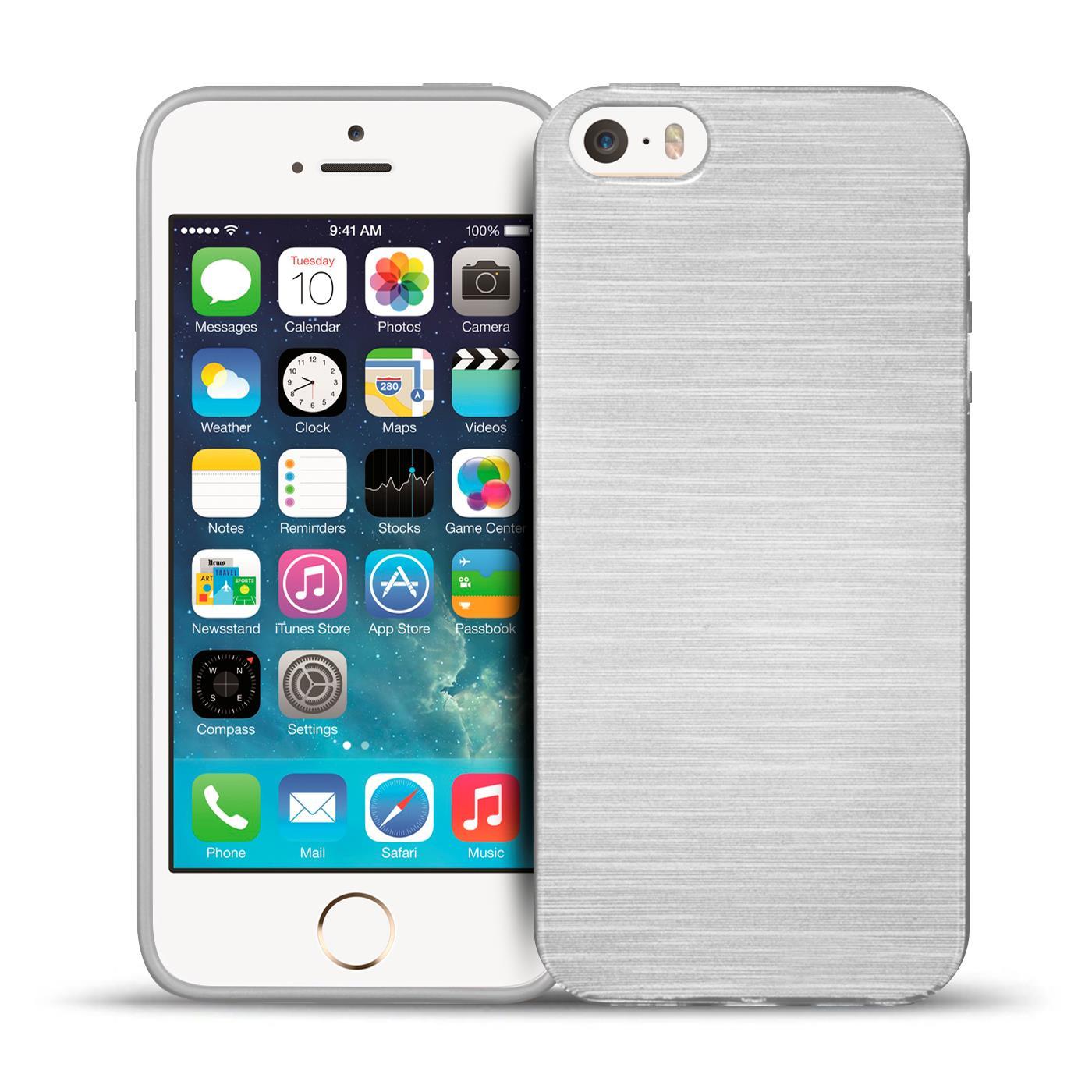 silikon bumper h lle apple iphone handy schutz glitzer. Black Bedroom Furniture Sets. Home Design Ideas