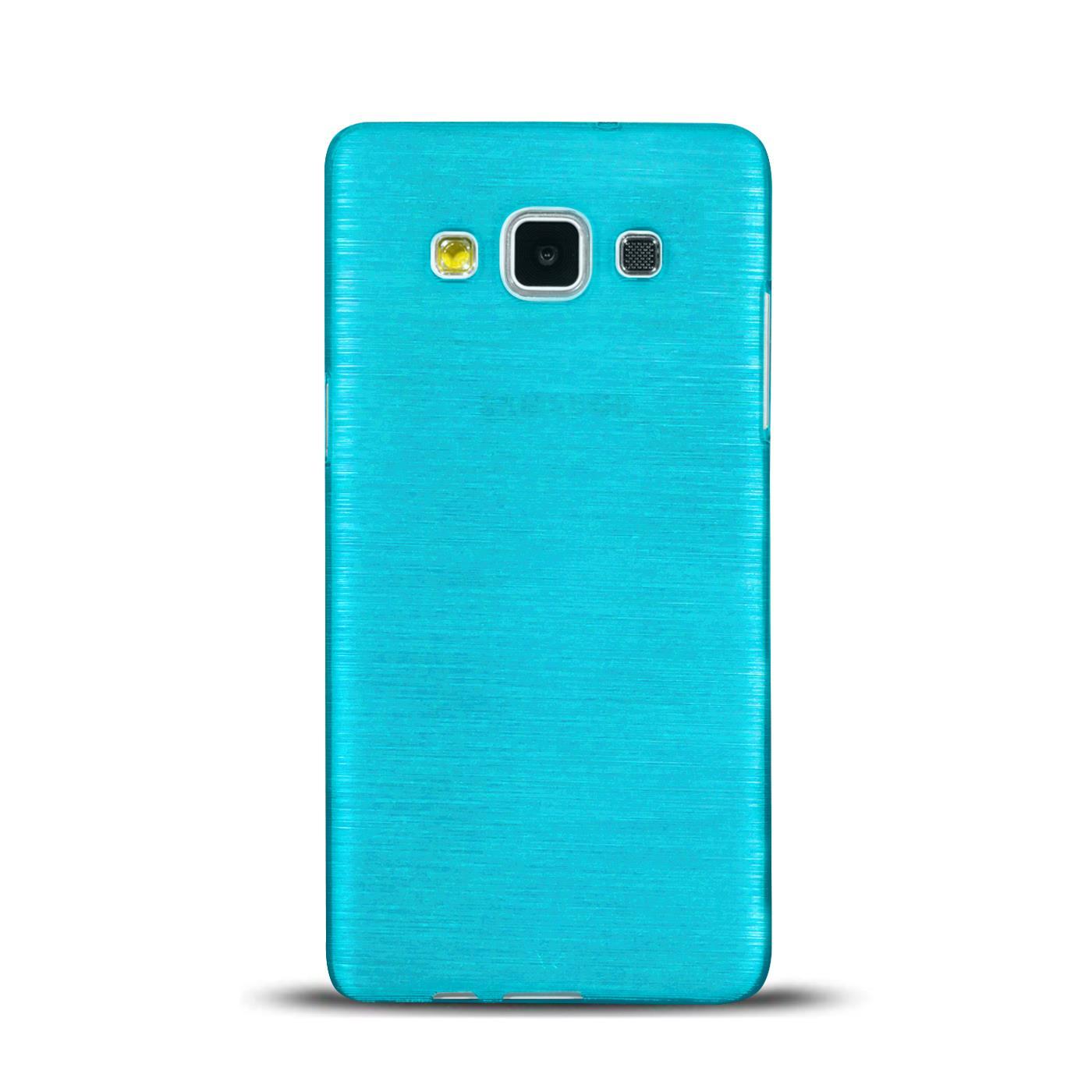Silikon-Bumper-Case-Samsung-Galaxy-a5-2015-Ultra-Slim-Stossfeste-Rueckschale Indexbild 6