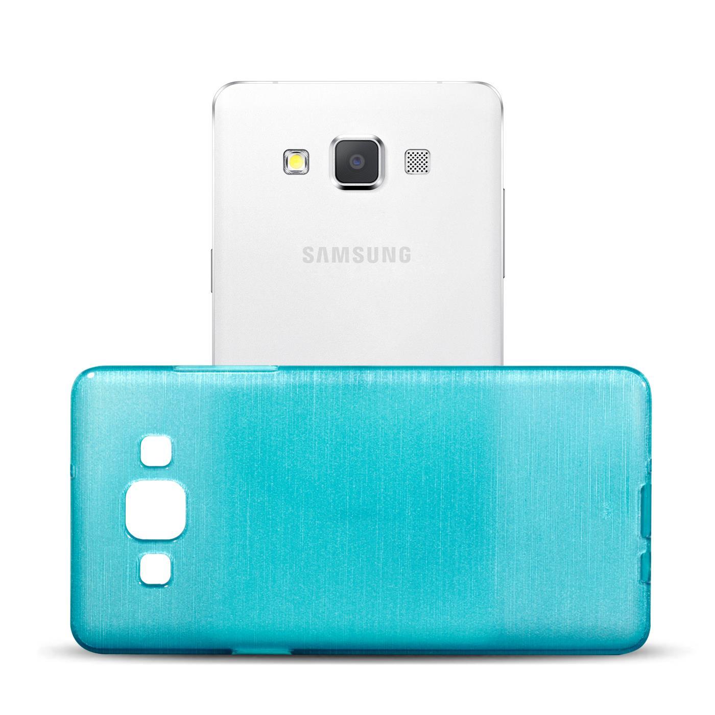 Silikon-Bumper-Case-Samsung-Galaxy-a5-2015-Ultra-Slim-Stossfeste-Rueckschale Indexbild 8