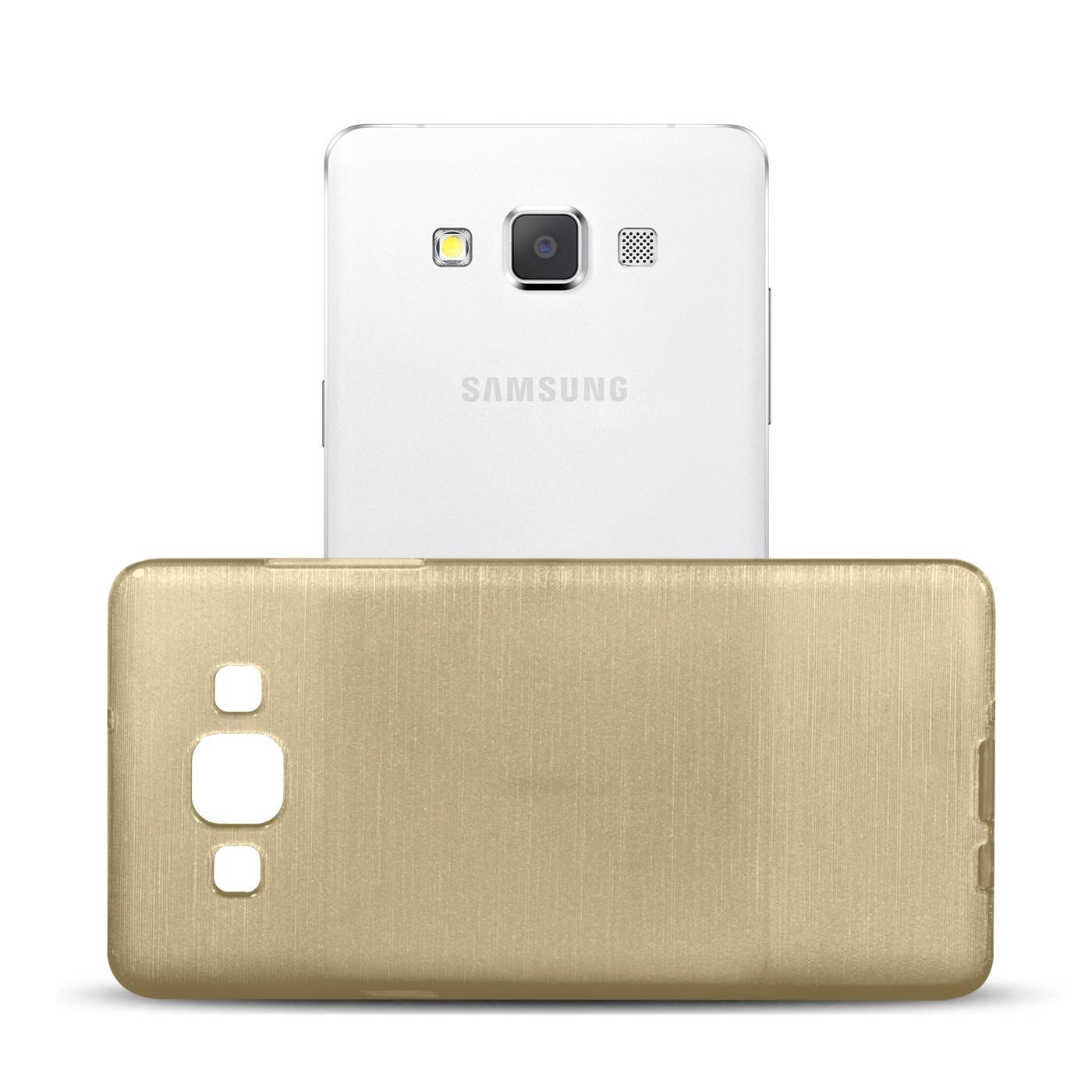 Silikon-Bumper-Case-Samsung-Galaxy-a5-2015-Ultra-Slim-Stossfeste-Rueckschale Indexbild 12