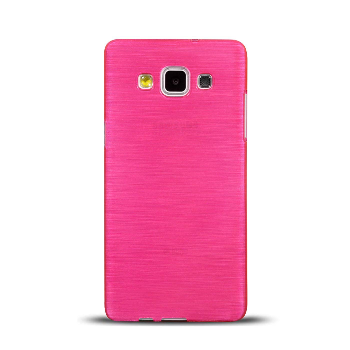 Silikon-Bumper-Case-Samsung-Galaxy-a5-2015-Ultra-Slim-Stossfeste-Rueckschale Indexbild 14