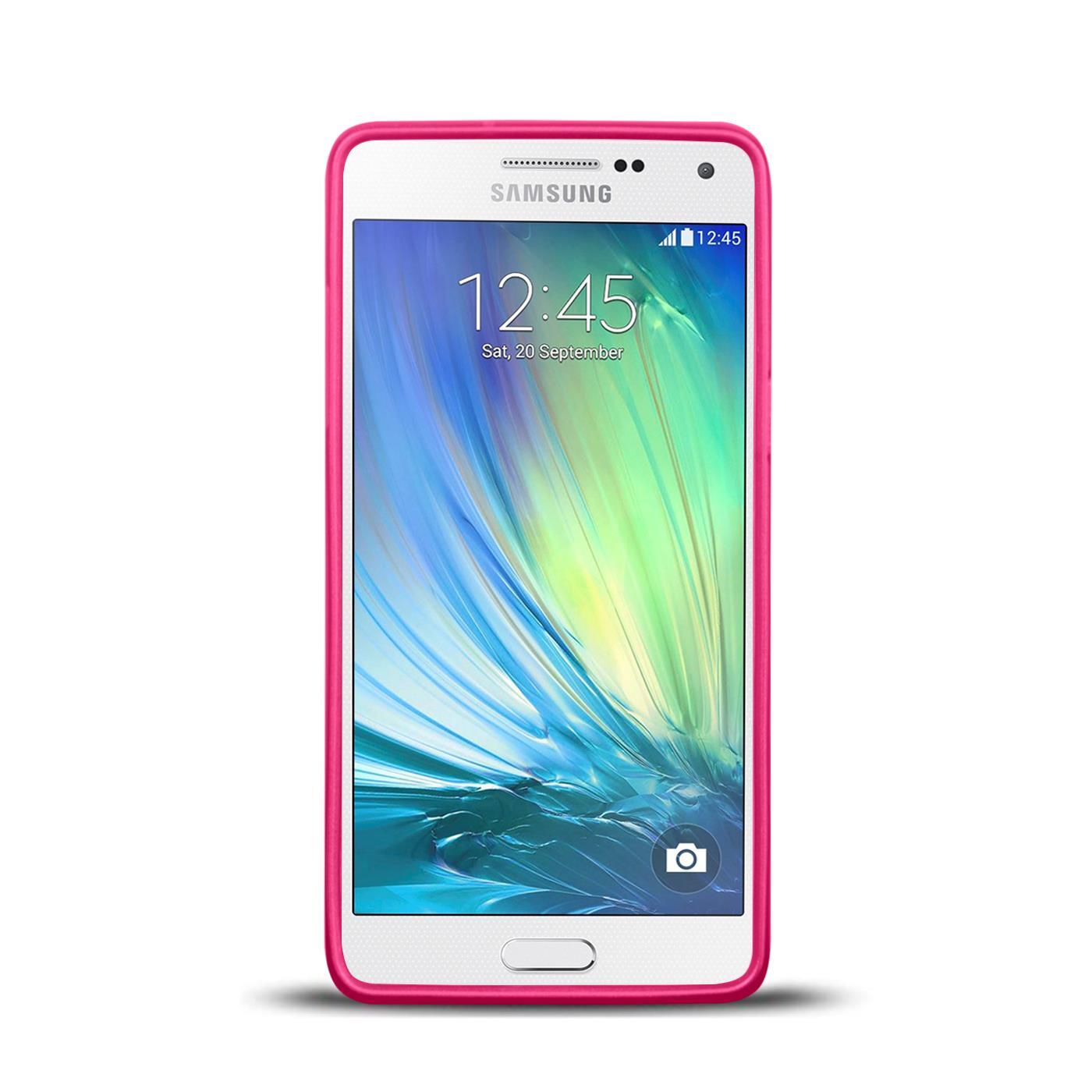 Silikon-Bumper-Case-Samsung-Galaxy-a5-2015-Ultra-Slim-Stossfeste-Rueckschale Indexbild 15