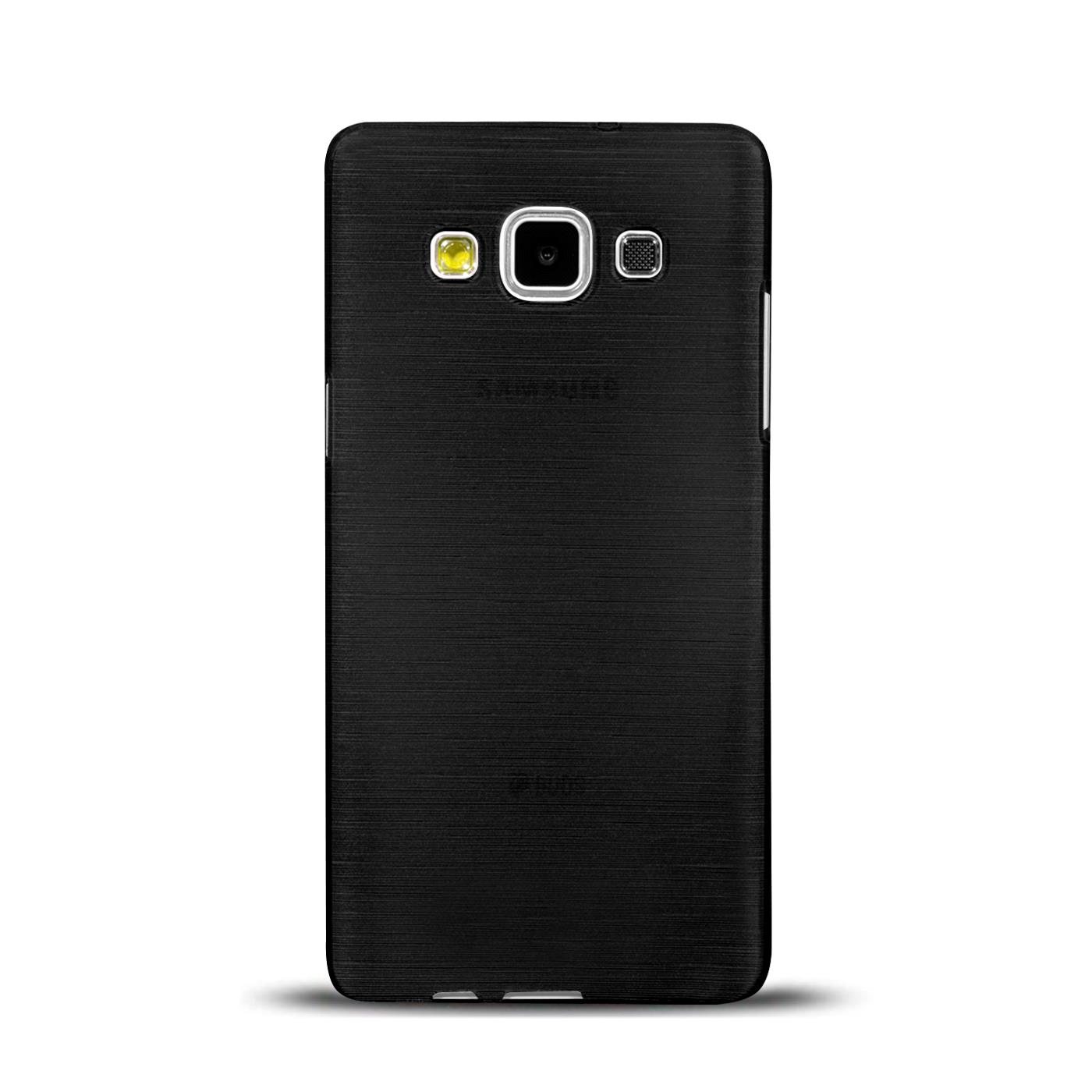 Silikon-Bumper-Case-Samsung-Galaxy-a5-2015-Ultra-Slim-Stossfeste-Rueckschale Indexbild 18